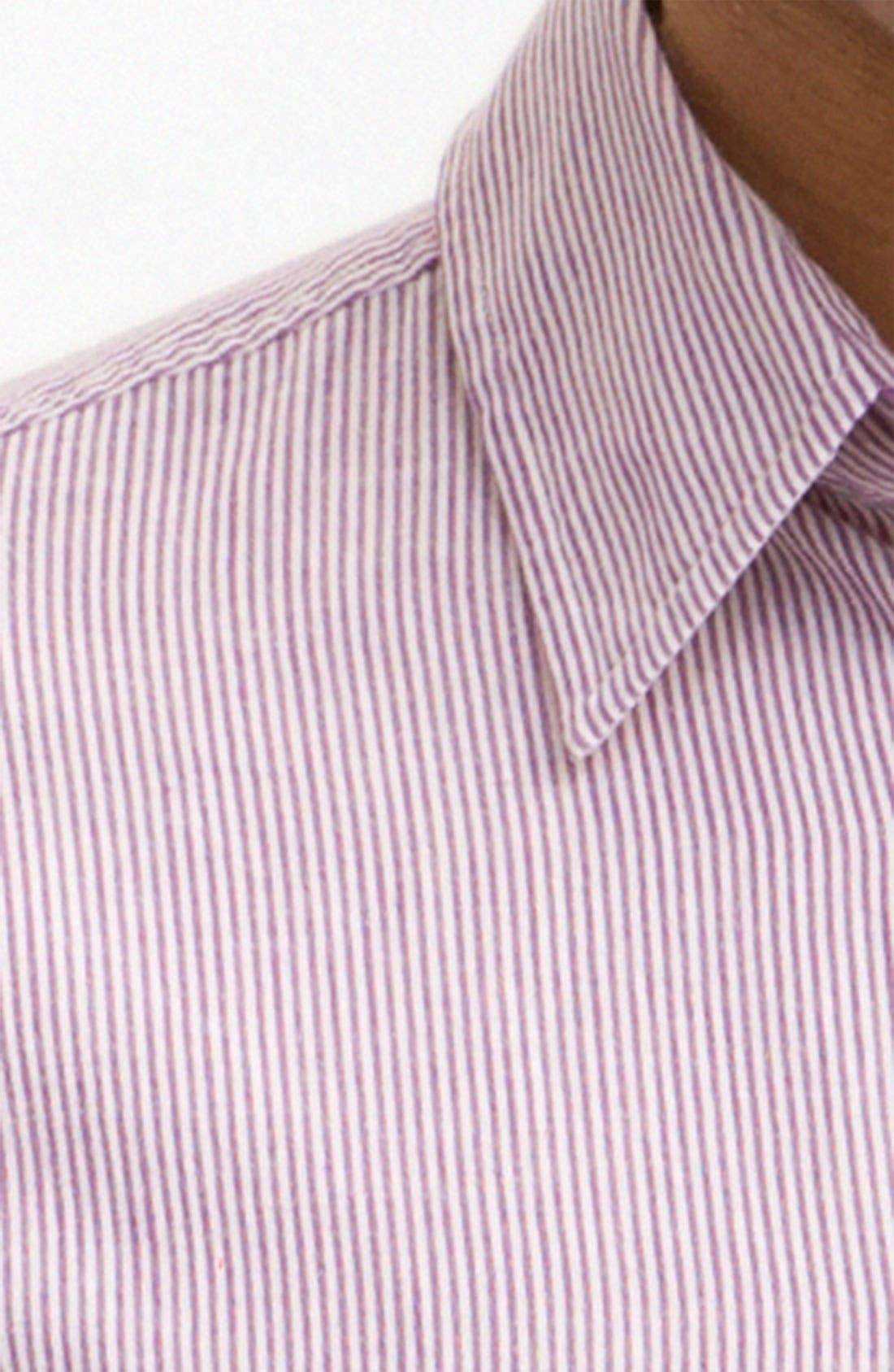 Alternate Image 4  - rag & bone Stripe Sport Shirt