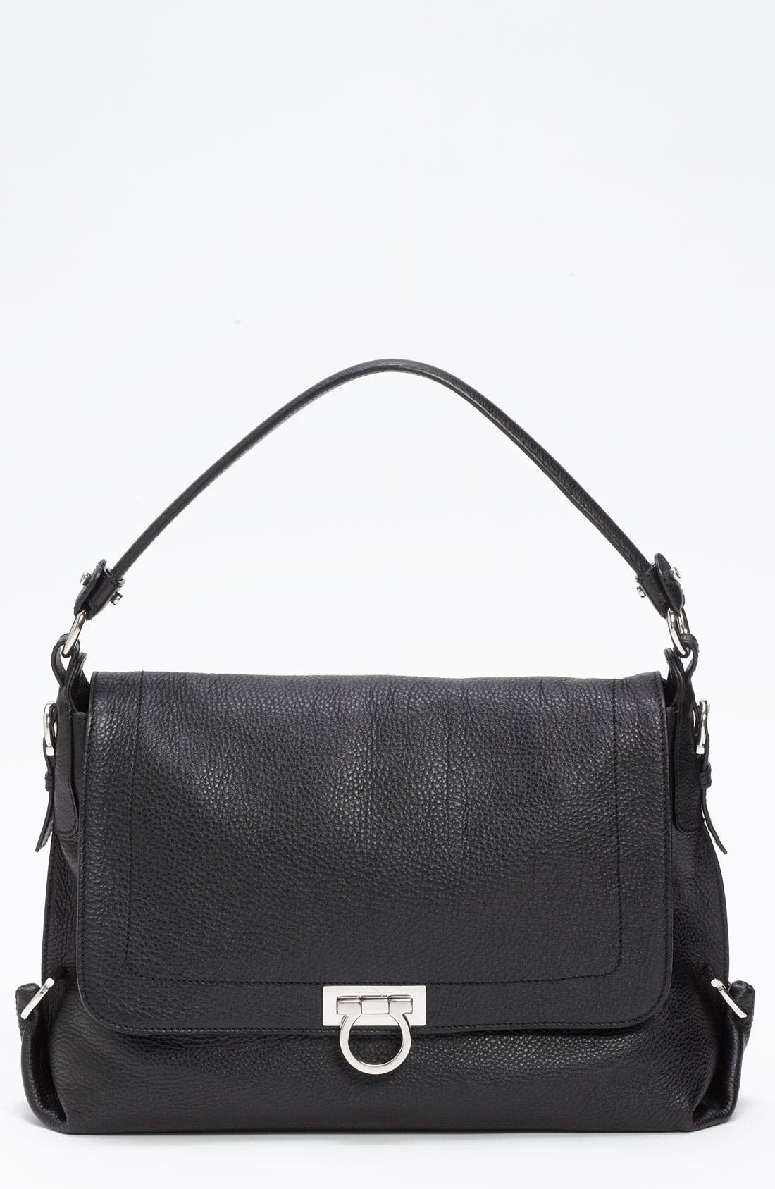 Main Image - Salvatore Ferragamo 'Avye' Leather Shoulder Bag