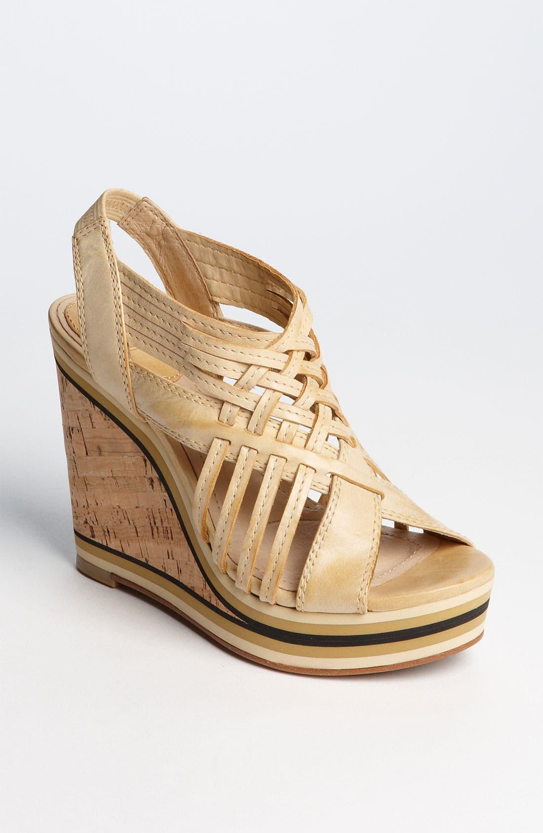 Alternate Image 1 Selected - Frye 'Corrina' Woven Sandal