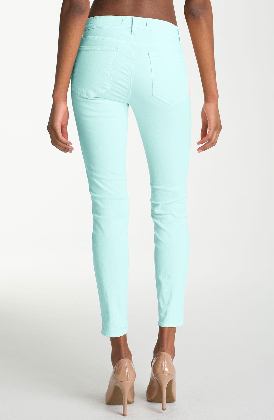 Alternate Image 2  - J Brand Overdyed Skinny Jeans
