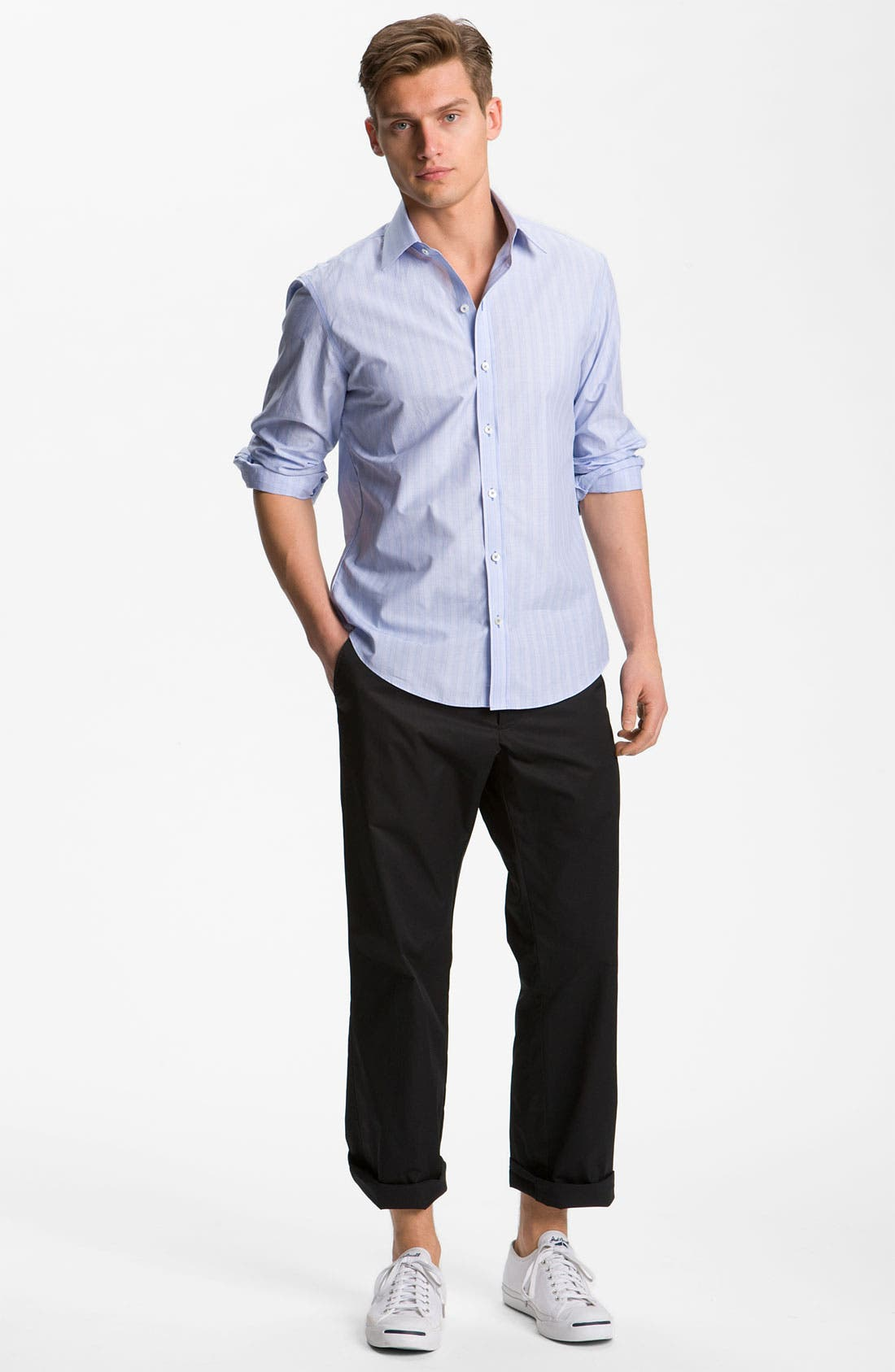 Alternate Image 4  - Zachary Prell Slim Fit Sport Shirt