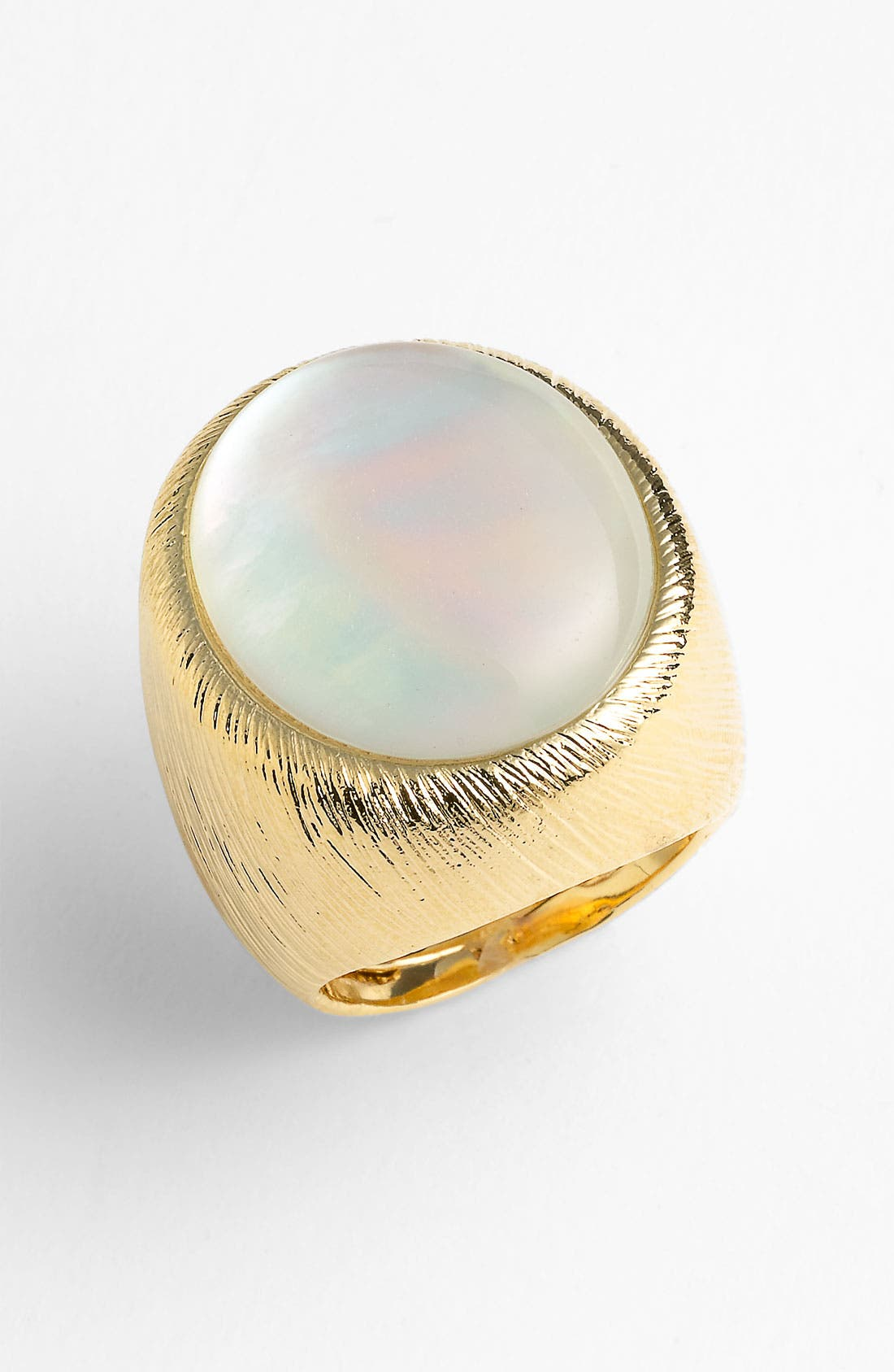 Alternate Image 1 Selected - Ariella Collection Oval Dome Ring