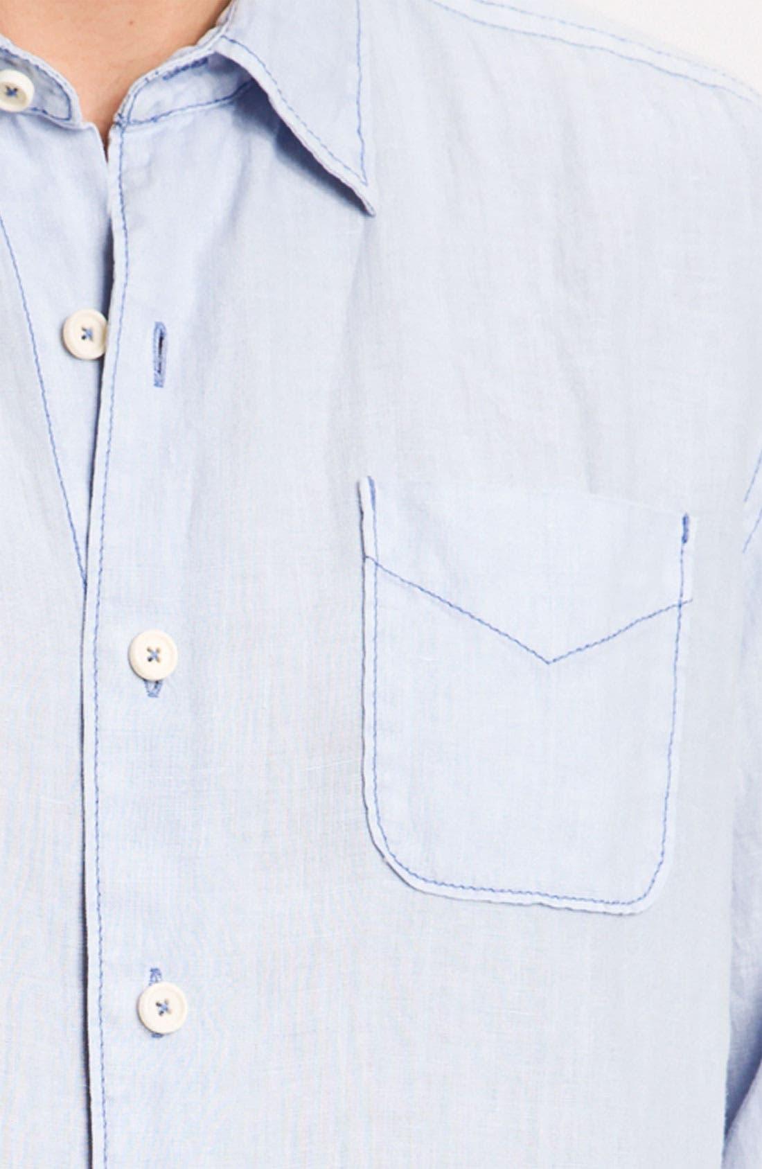 Alternate Image 3  - Tommy Bahama 'Beachy Breezer' Linen Sport Shirt (Big & Tall)