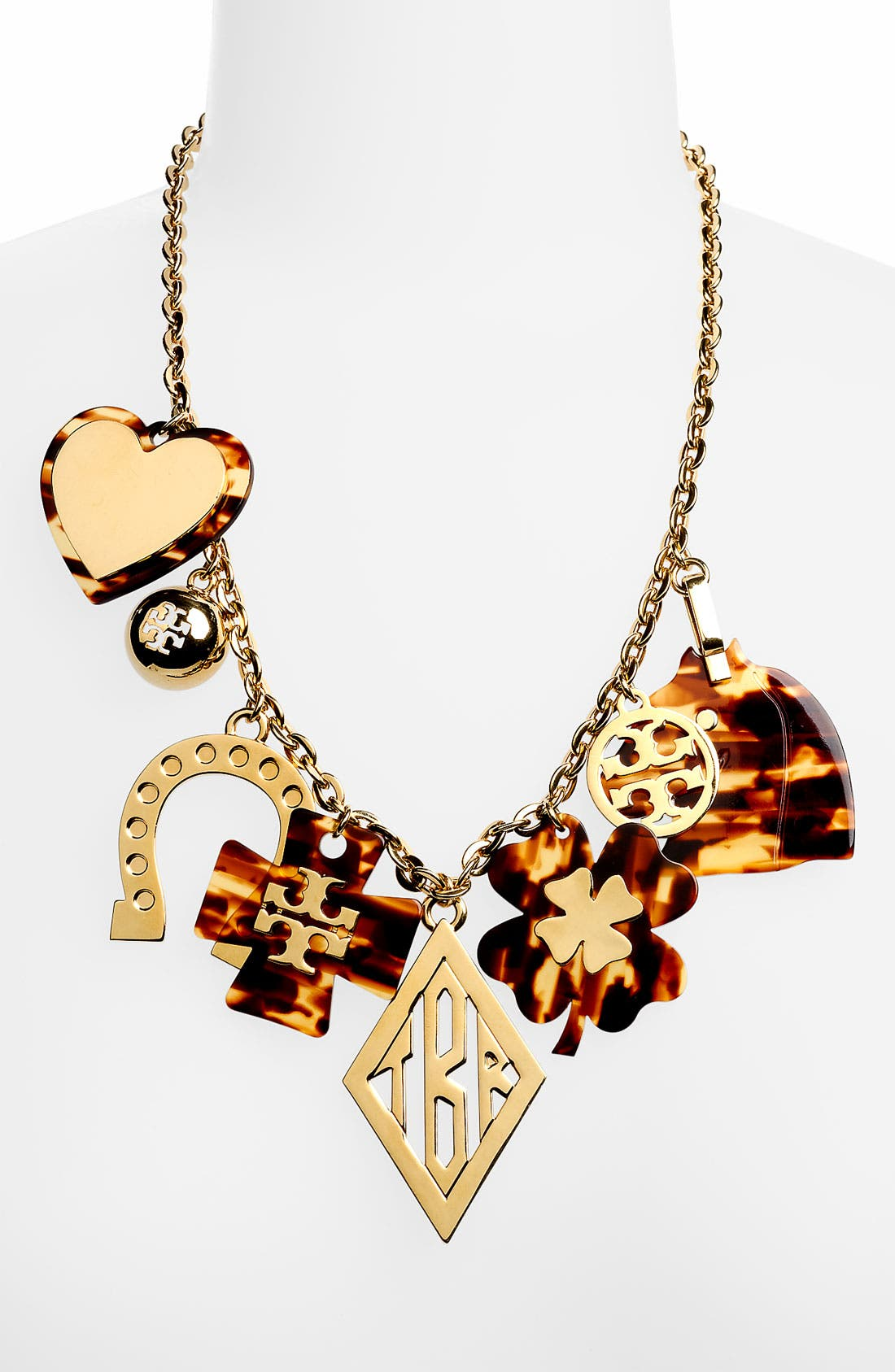 Main Image - Tory Burch 'Tilsim' Equestrian Charm Necklace