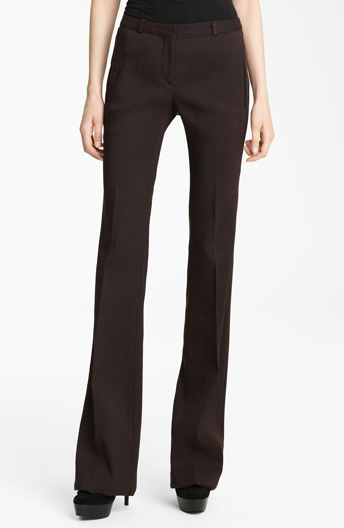 Alternate Image 1 Selected - Burberry Prorsum Flare Leg Pants