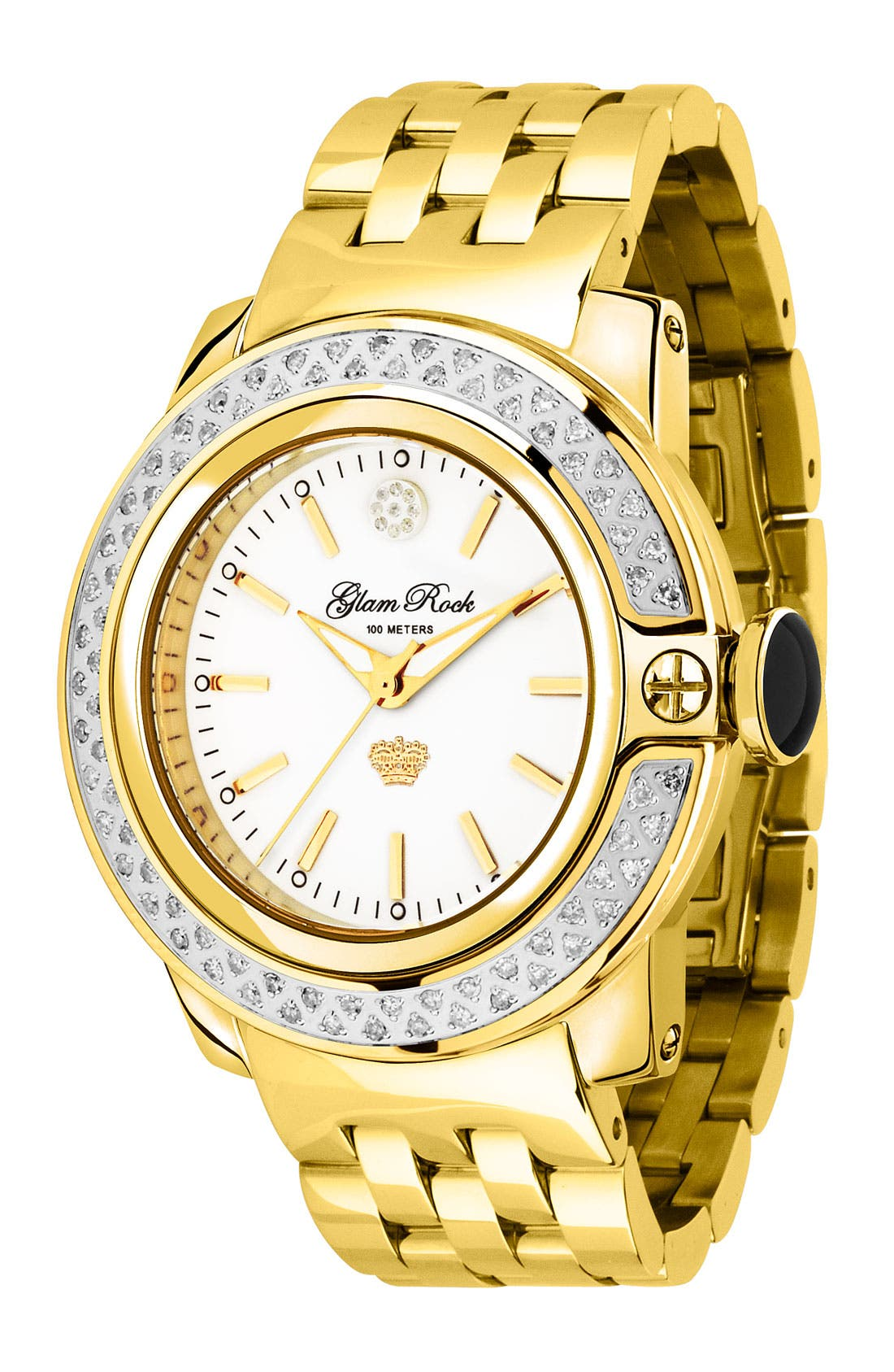 Main Image - Glam Rock 'So Be - Lady' Diamond Bracelet Watch