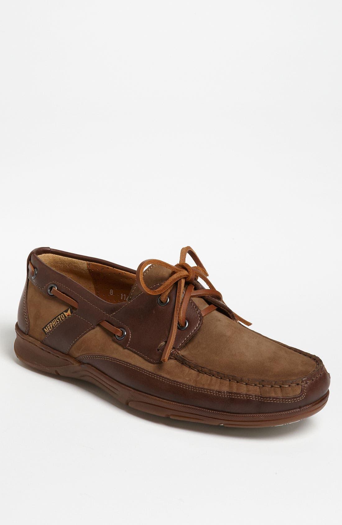 Alternate Image 1 Selected - Mephisto 'Felix' Boat Shoe (Men)