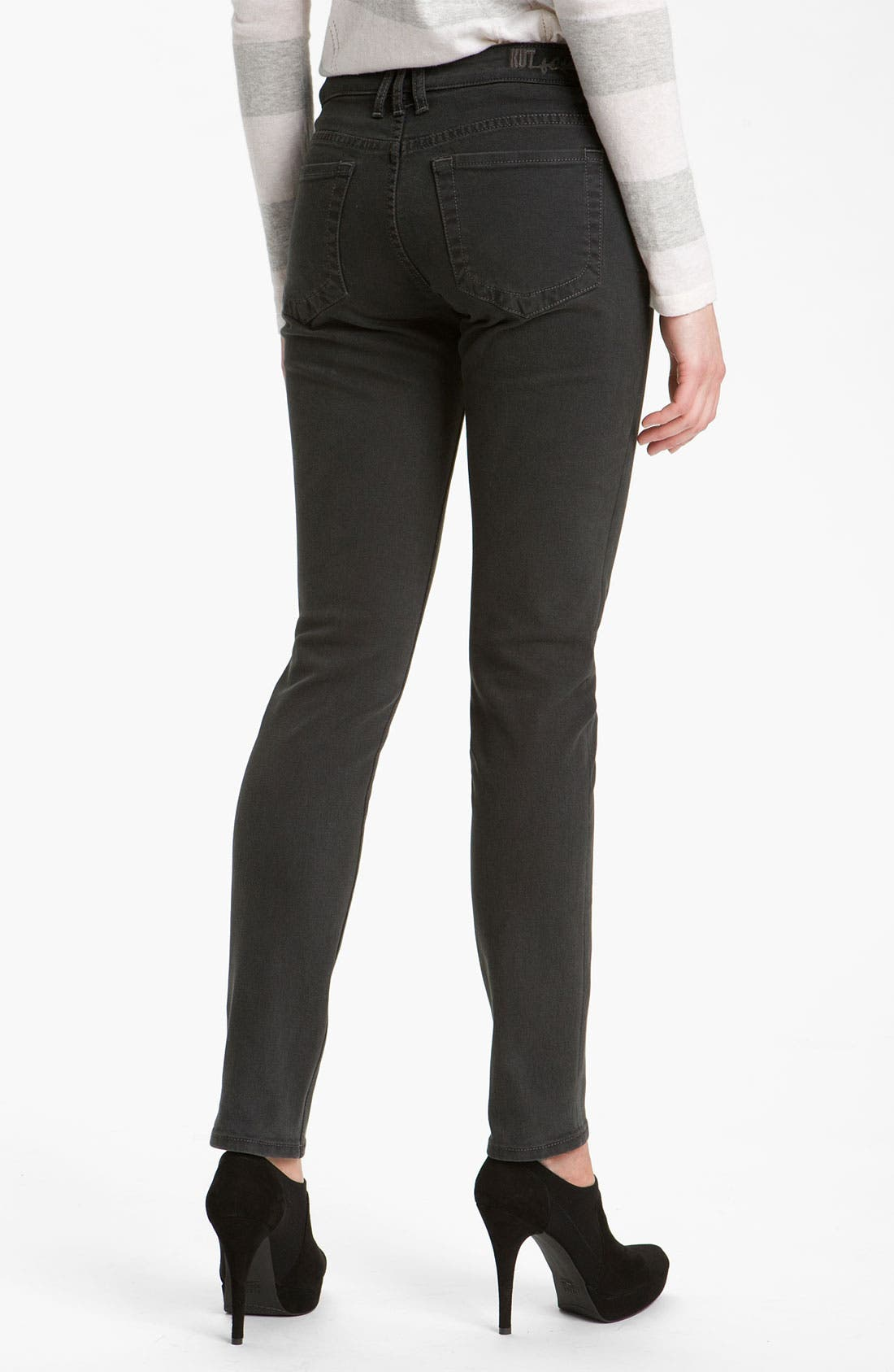 Alternate Image 2  - KUT from the Kloth 'Diana' Skinny Jeans (Graceful Wash)