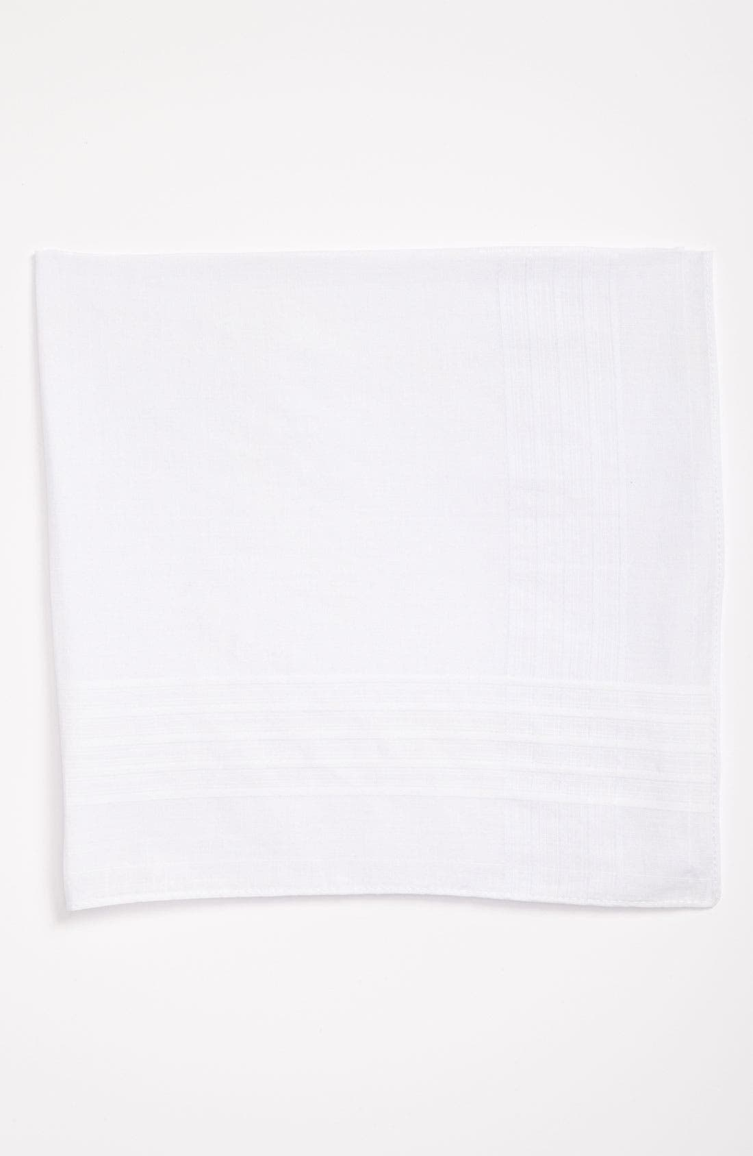 Alternate Image 1 Selected - Nordstrom Men's Shop Cotton Handkerchief (7-Pack)