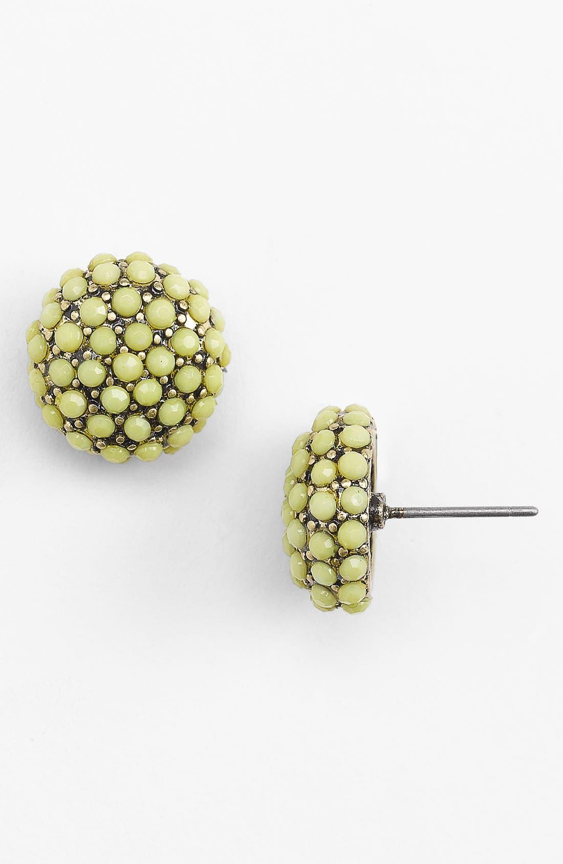 Main Image - Stephan & Co. Enameled Pavé Earrings