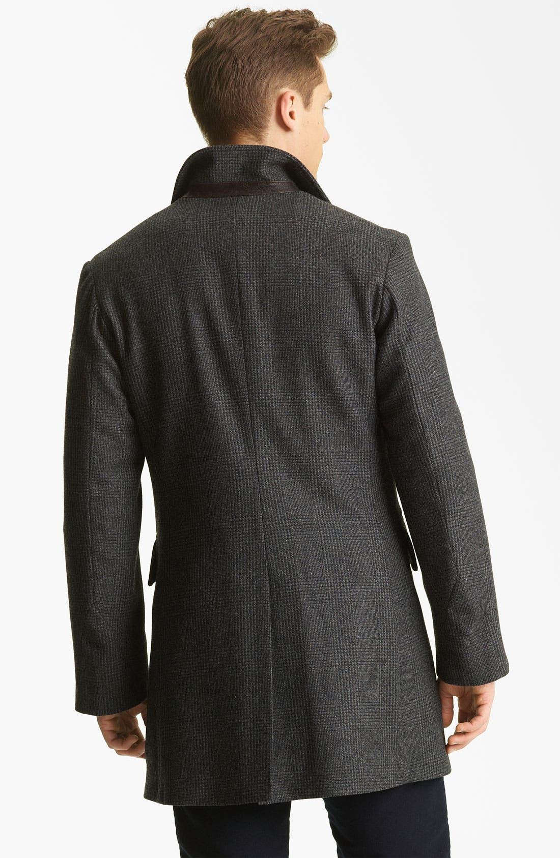 Alternate Image 2  - Billy Reid 'Sunday' Plaid Wool Coat