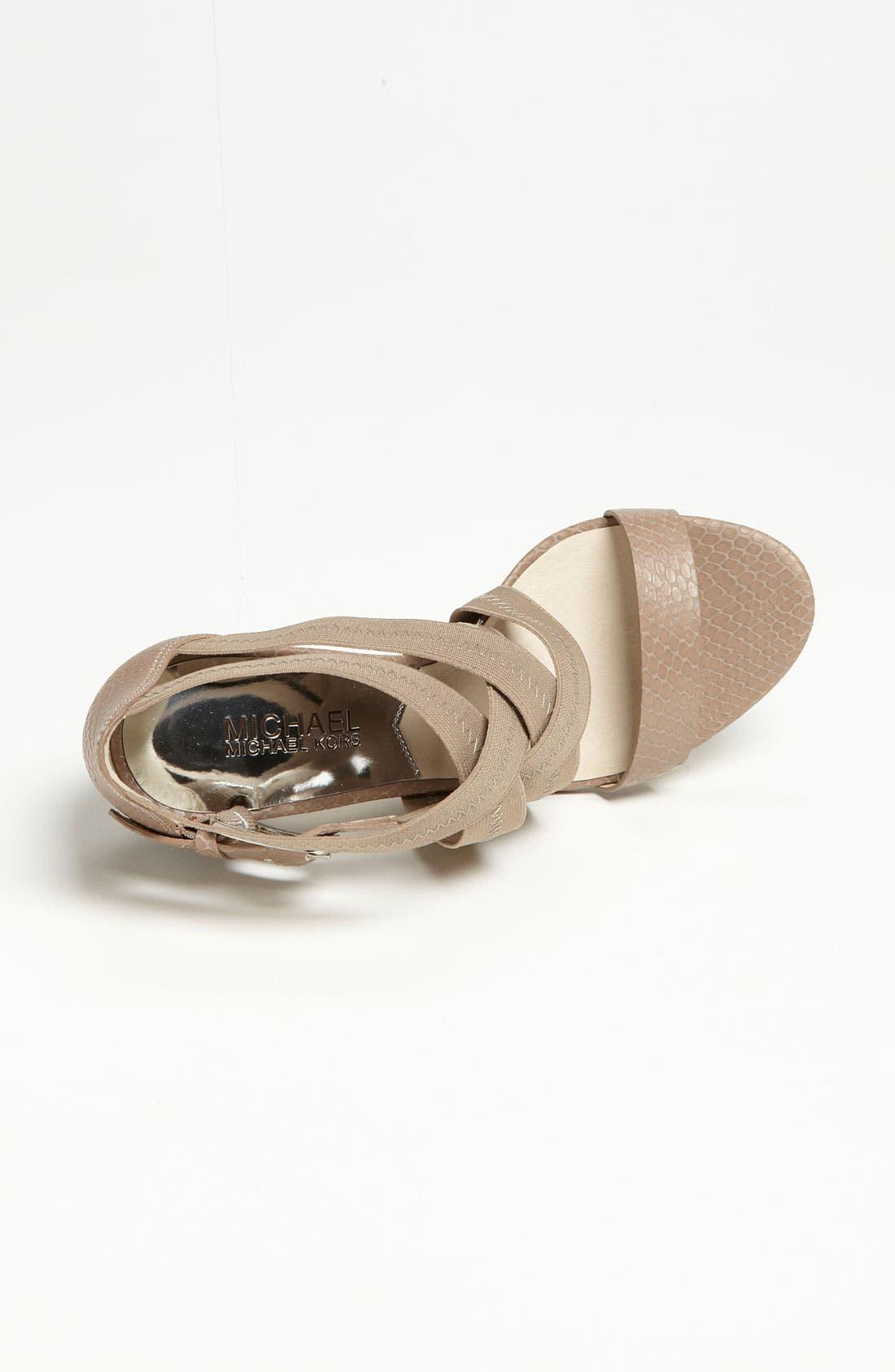 Alternate Image 3  - MICHAEL Michael Kors 'Carina' Sandal