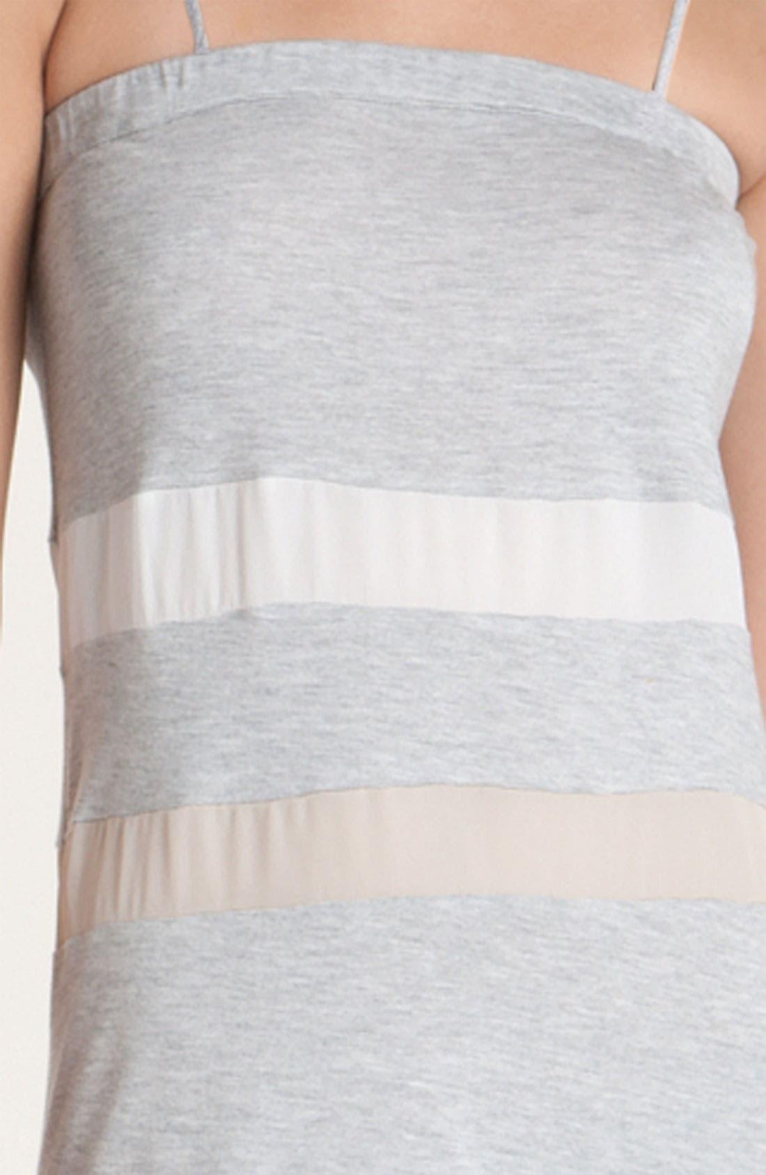 Alternate Image 3  - Haute Hippie Colorblock Stripe Maxi Dress