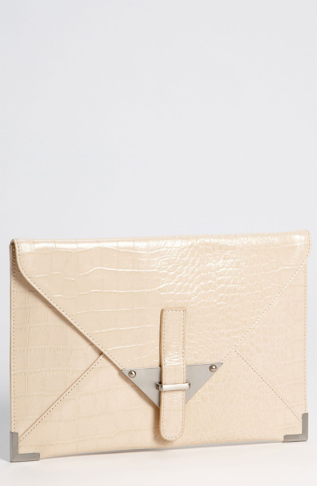 Alternate Image 1 Selected - Tarnish 'Plate' Clutch