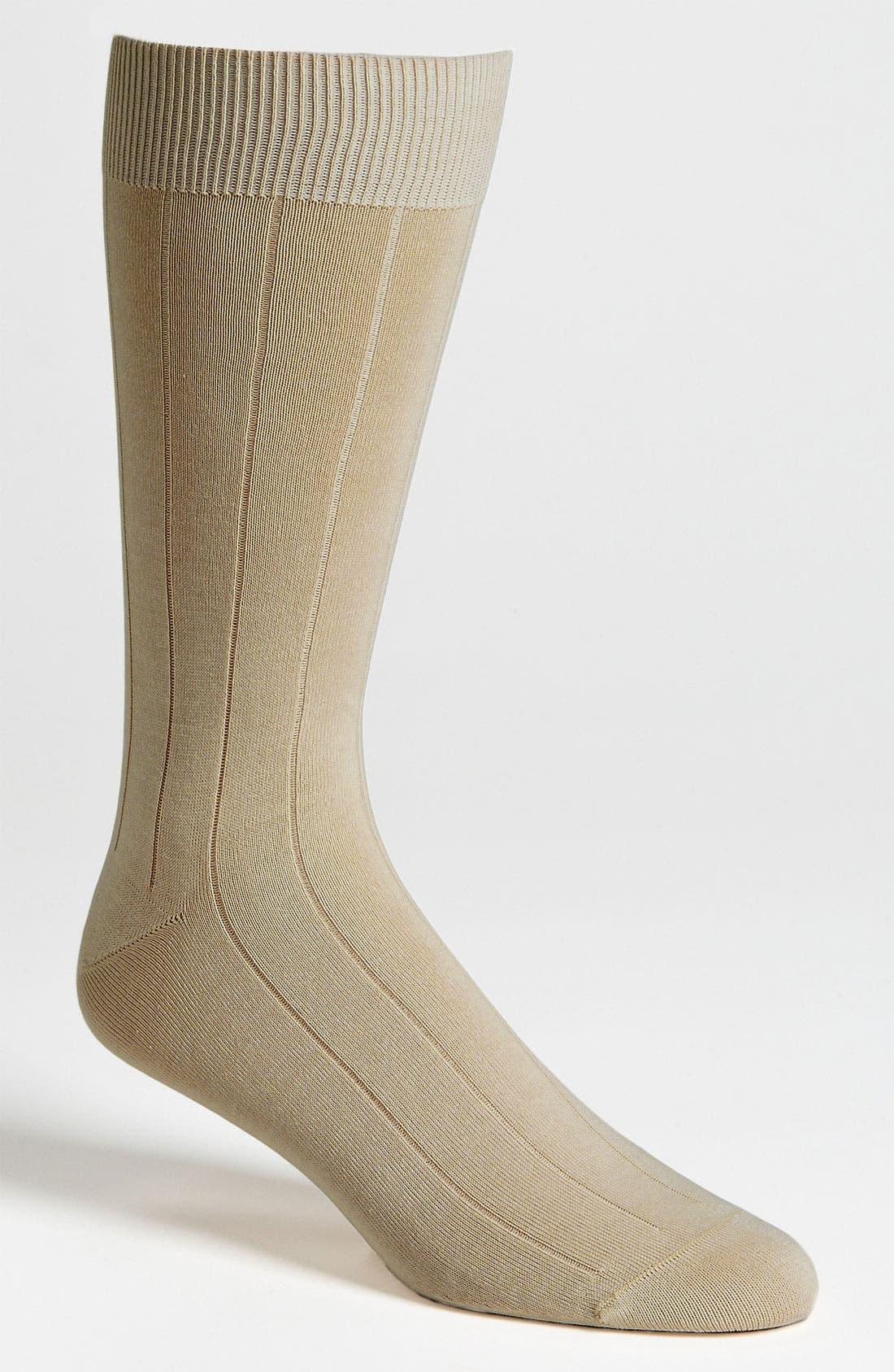 Alternate Image 1 Selected - Pantherella Sea Island Cotton Socks
