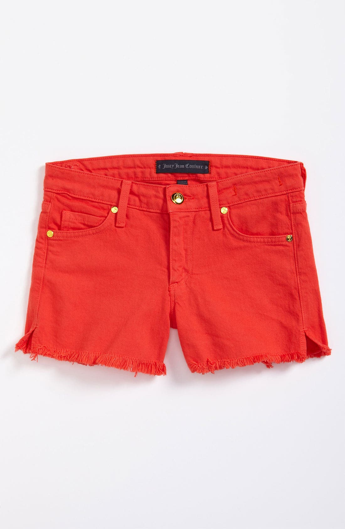 Alternate Image 2  - Juicy Couture Denim Shorts (Little Girls)