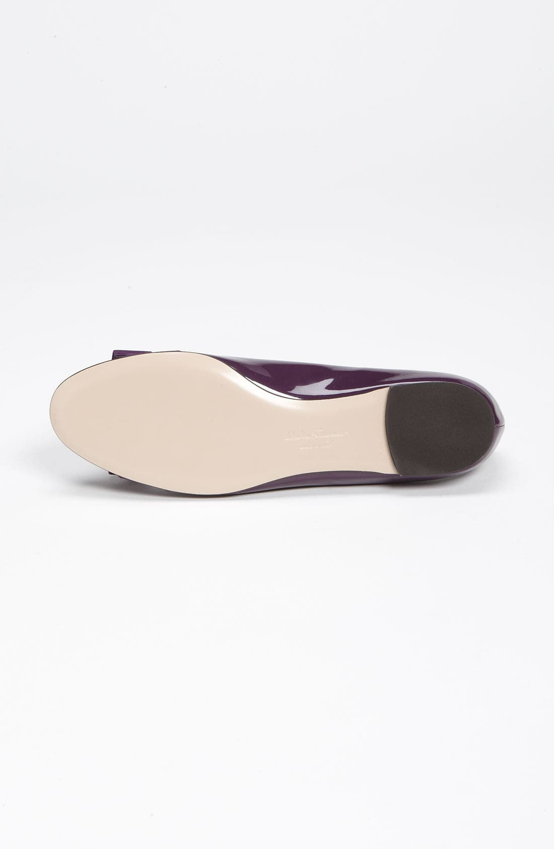 Alternate Image 4  - Salvatore Ferragamo 'Varina' Bow Flat