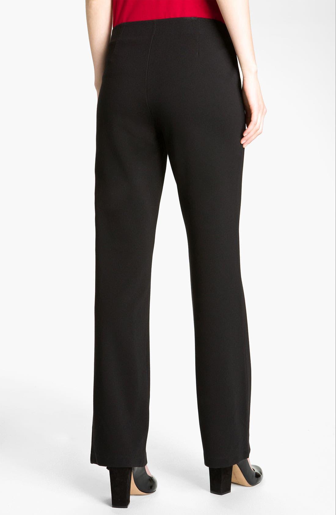 Alternate Image 2  - Eileen Fisher 'Milano' Straight Leg Knit Pants