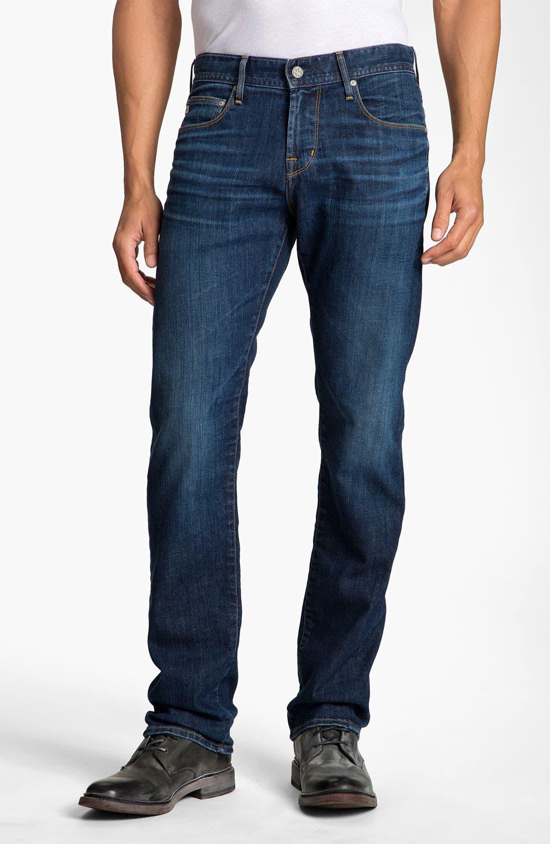 Alternate Image 1 Selected - AG Jeans 'Geffen' Easy Slim Straight Leg Jeans (Seven Year)
