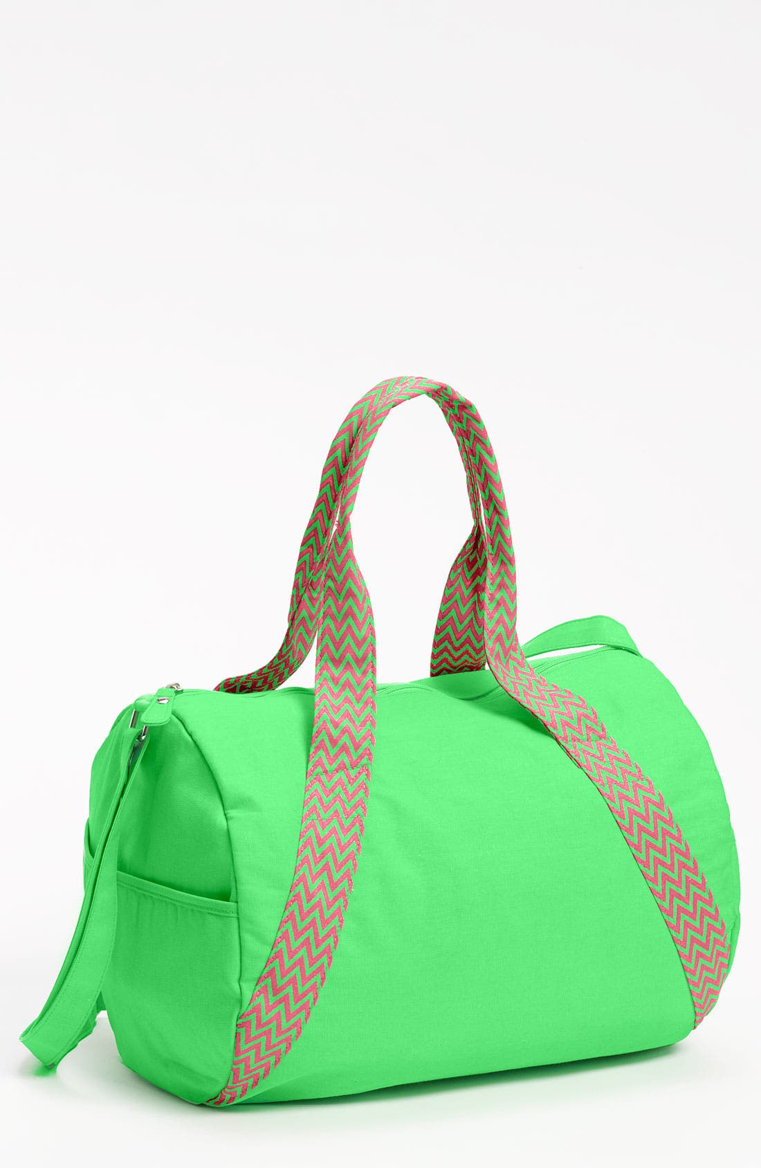 Main Image - Lulu Neon Barrel Duffel Bag