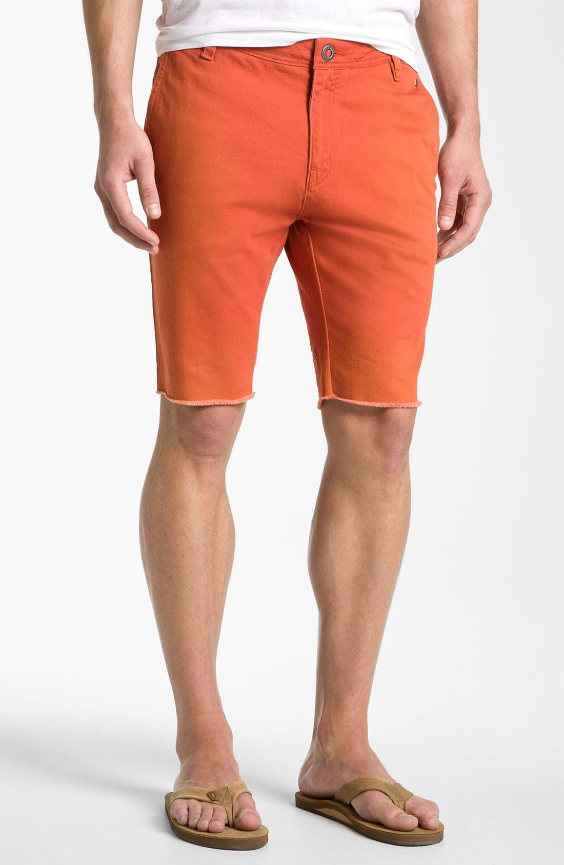 Alternate Image 1 Selected - Volcom Cutoff Chino Shorts