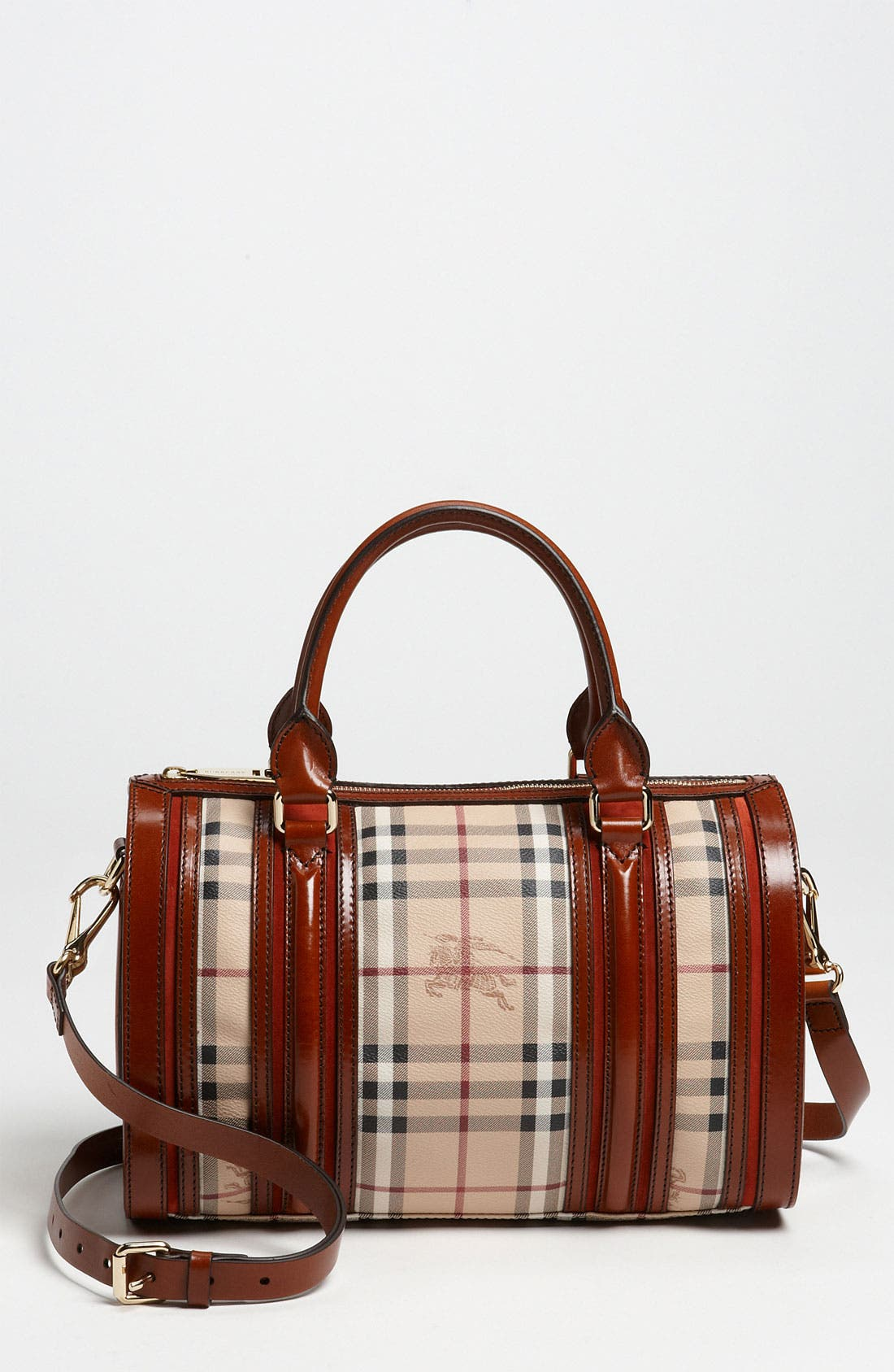 Alternate Image 1 Selected - Burberry 'Haymarket Check' Satchel