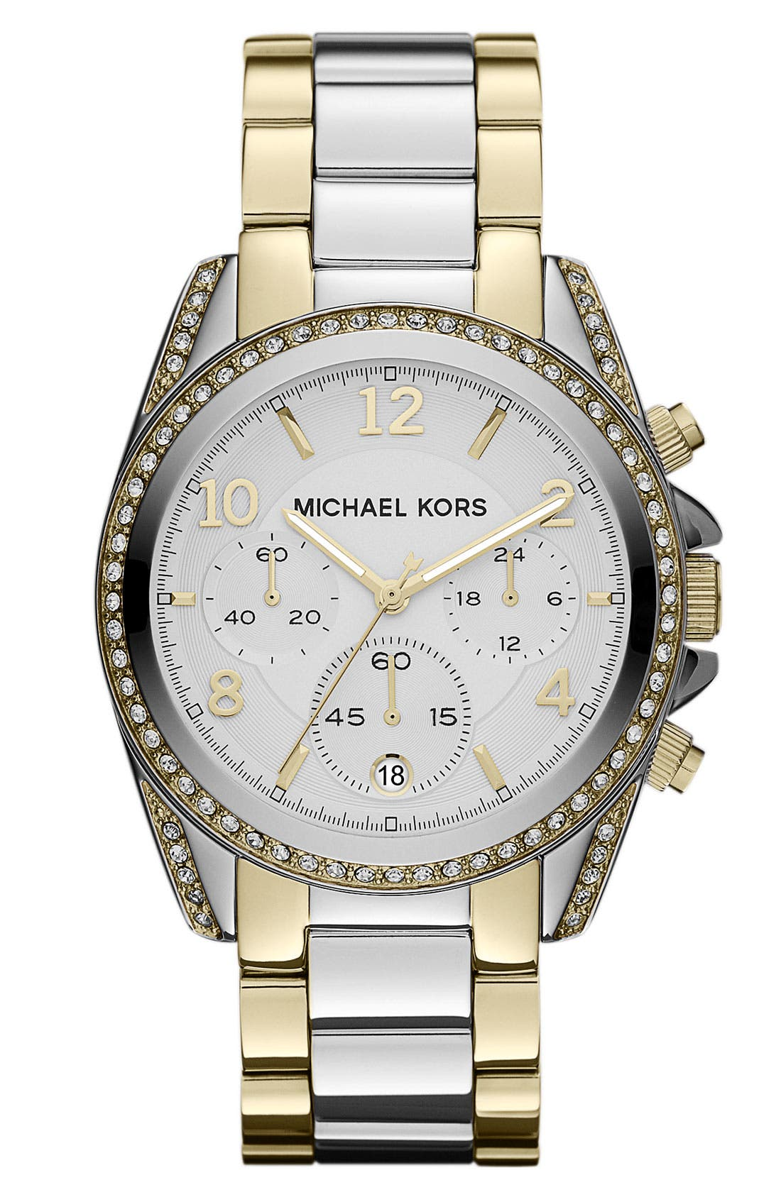 Alternate Image 1 Selected - Michael Kors 'Blair' Chronograph Watch, 39mm
