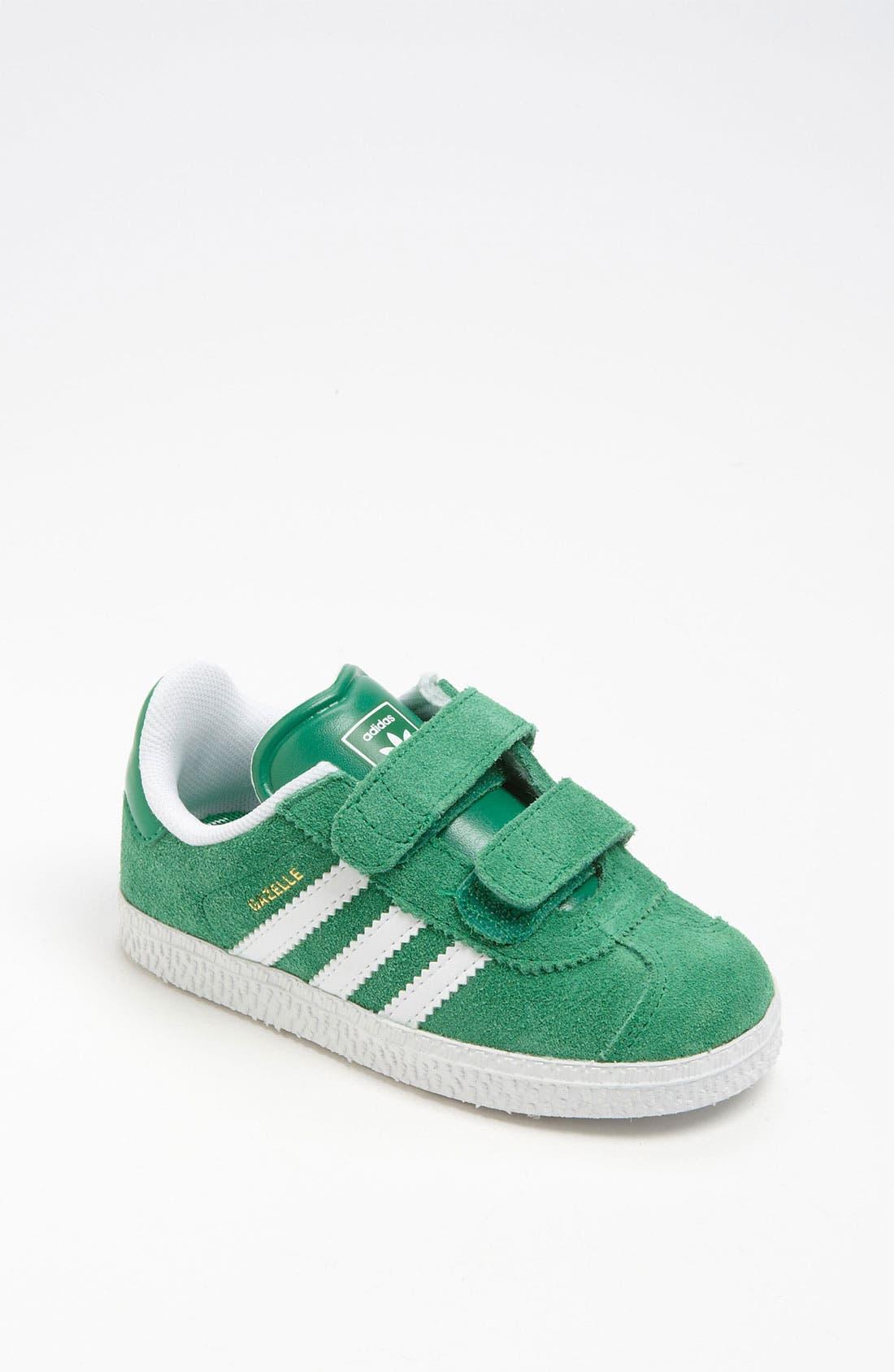 Main Image - adidas 'Gazelle' Sneaker (Baby, Walker & Toddler)