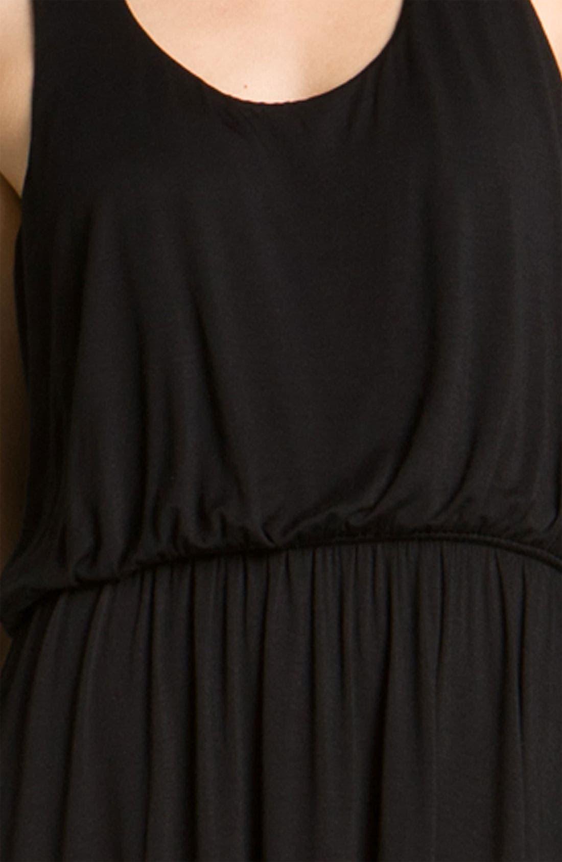 Alternate Image 3  - Bobeau Racerback Jersey Dress