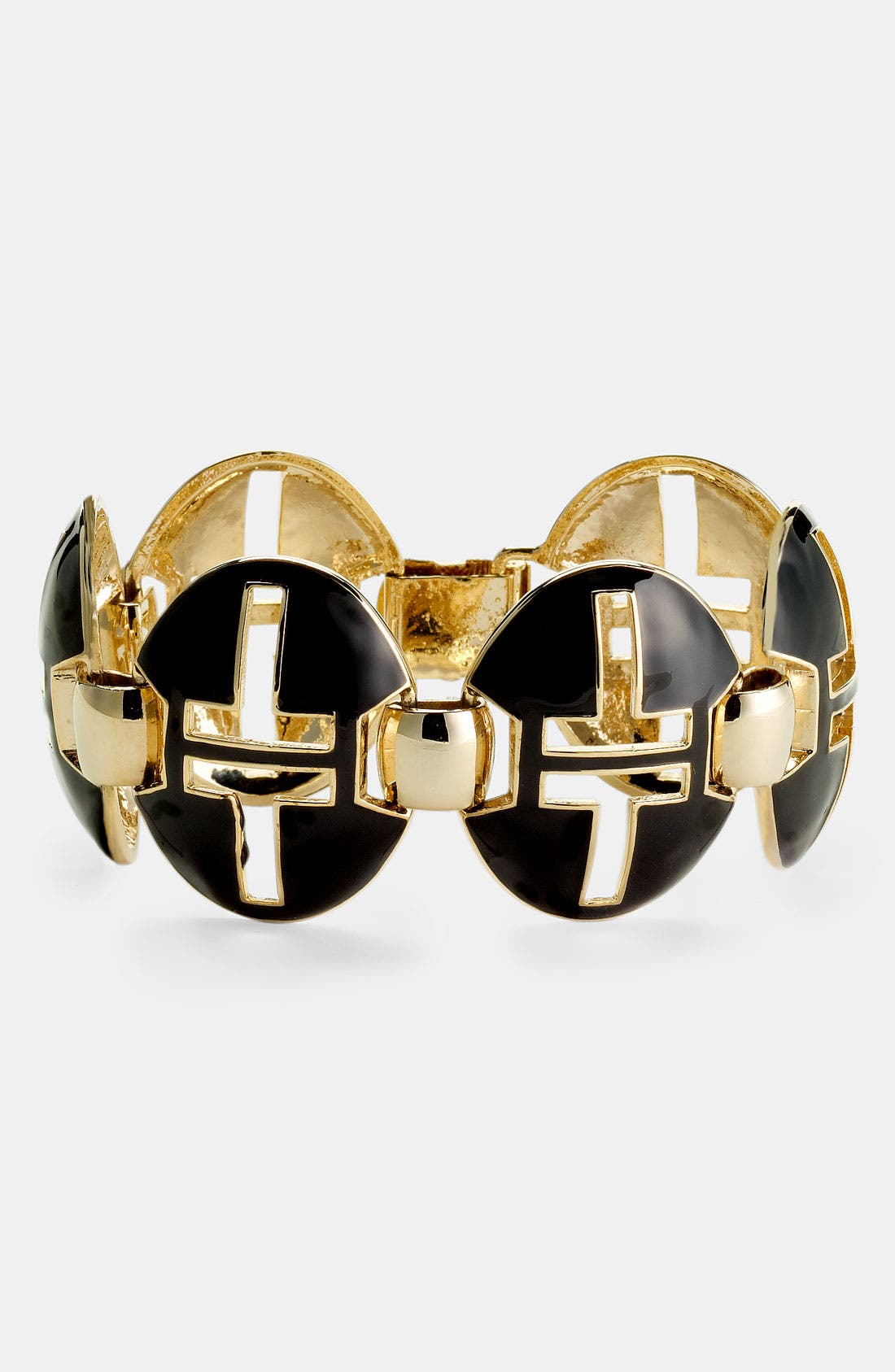 Alternate Image 1 Selected - Tory Burch 'Tyler' Oval Link Bracelet
