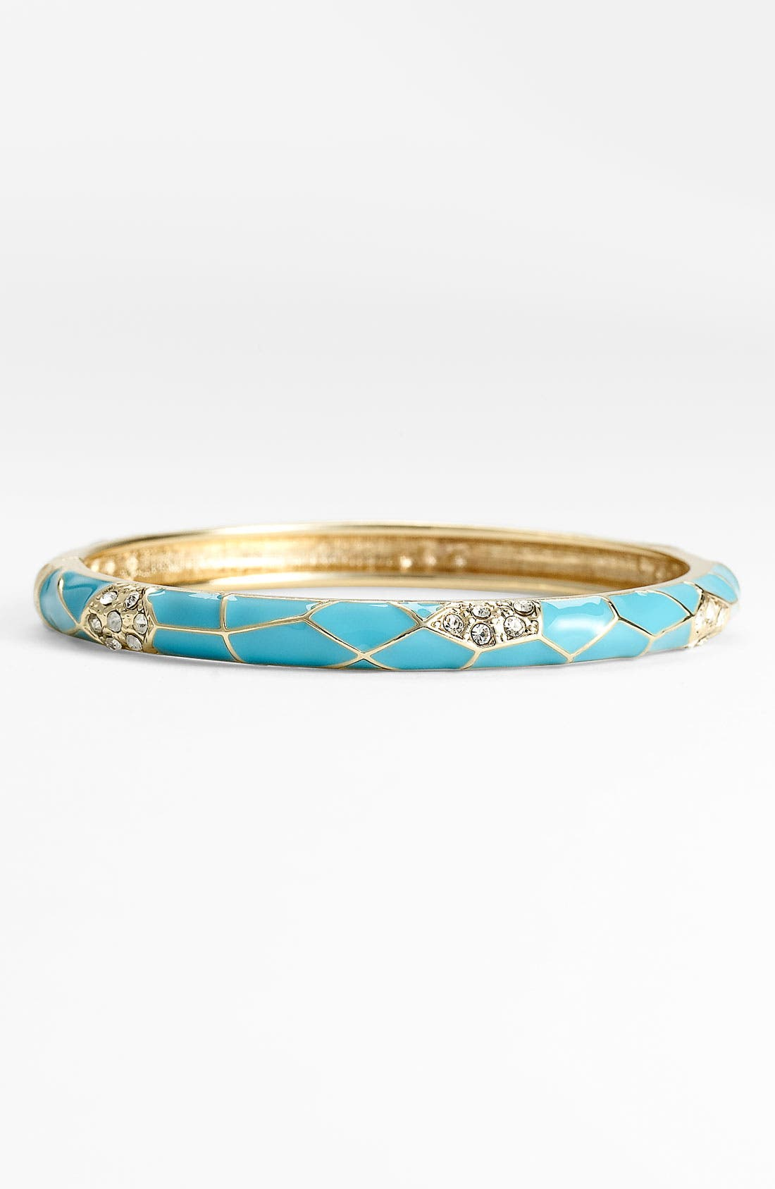 Main Image - Sequin Small Insect Wing Enamel Bangle