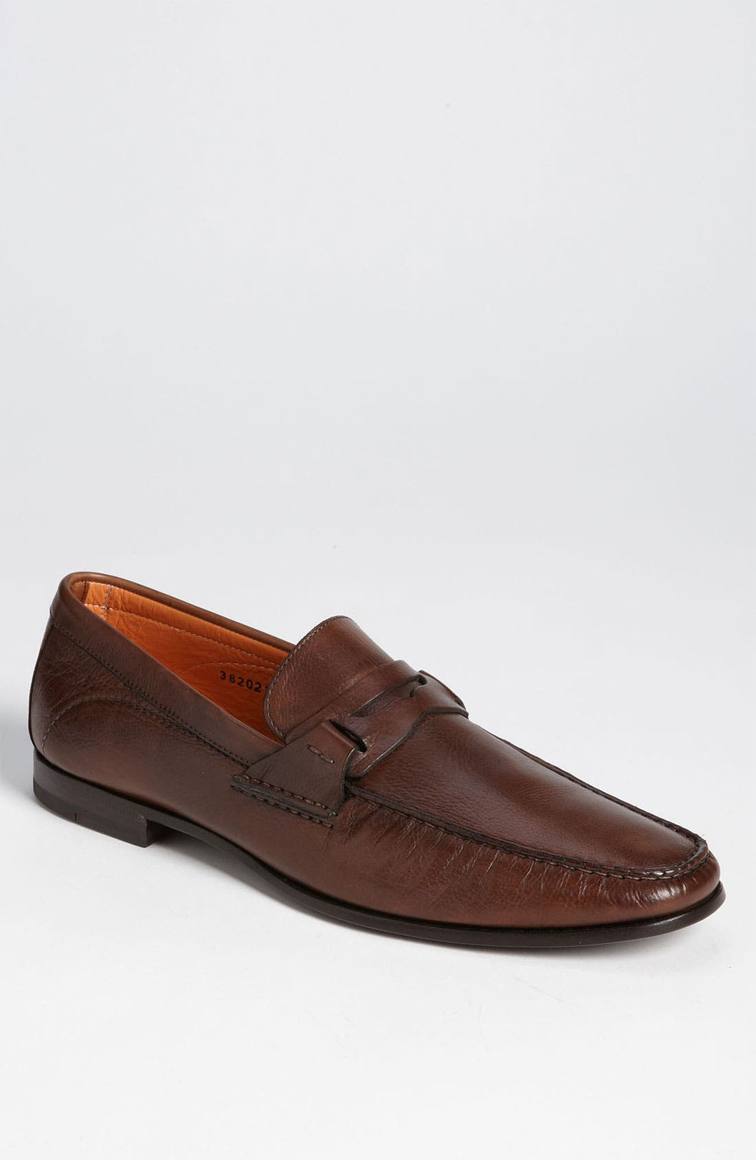 Alternate Image 1 Selected - Santoni 'Reed' Penny Loafer
