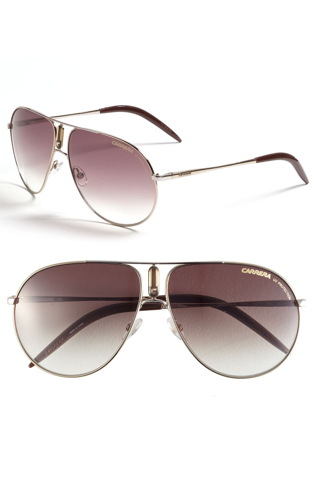 Alternate Image 1 Selected - Carrera Eyewear 61mm Aviator Sunglasses