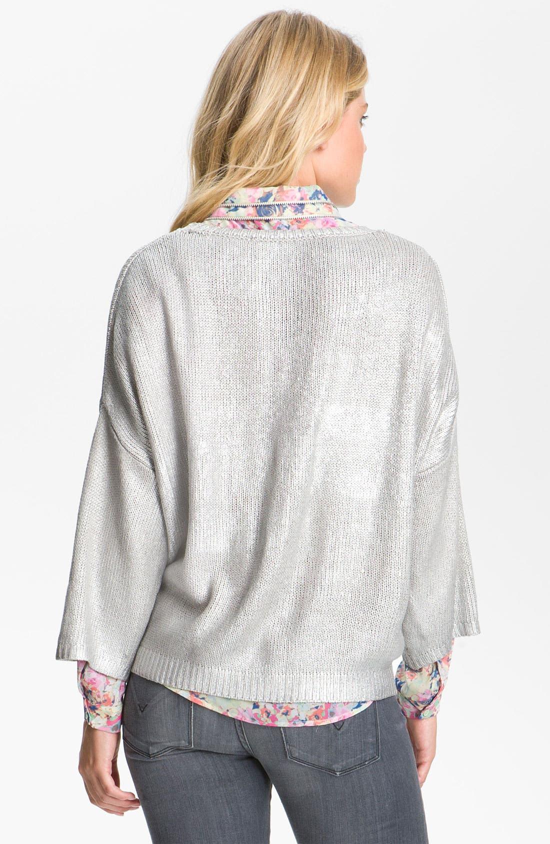 Alternate Image 2  - Remain Metallic Sweater