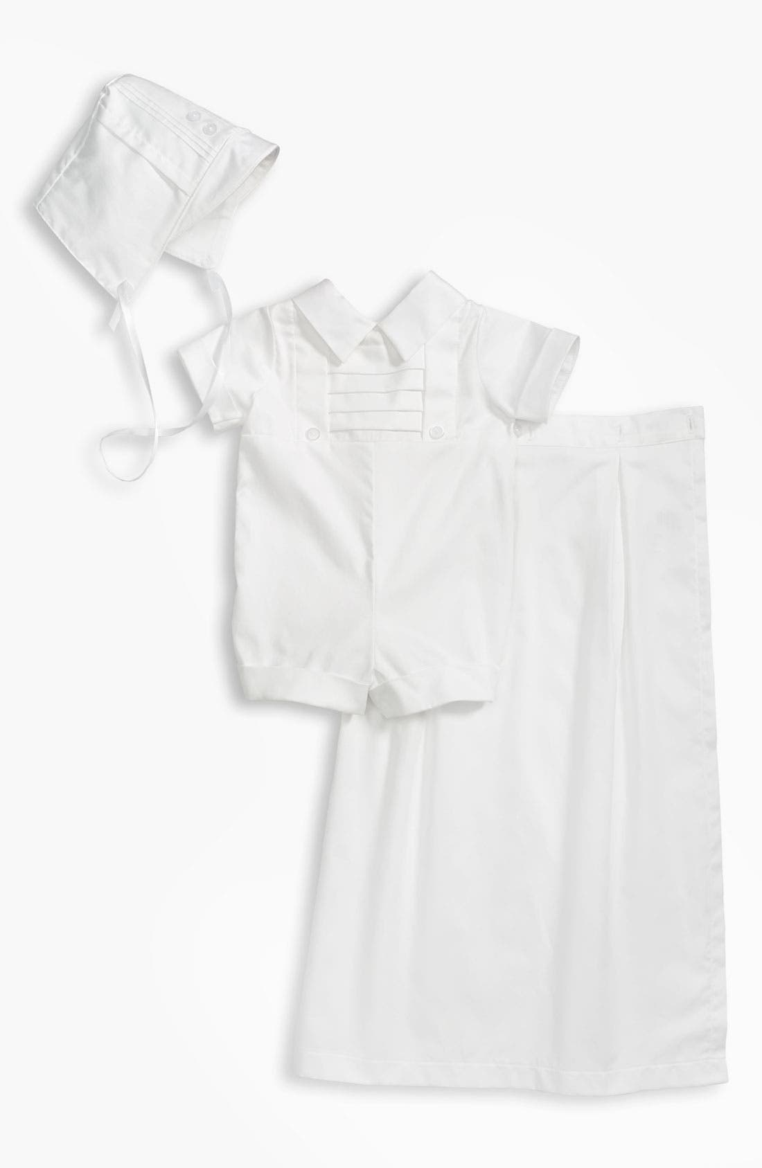 Alternate Image 1 Selected - Little Things Mean a Lot Romper (Infant)