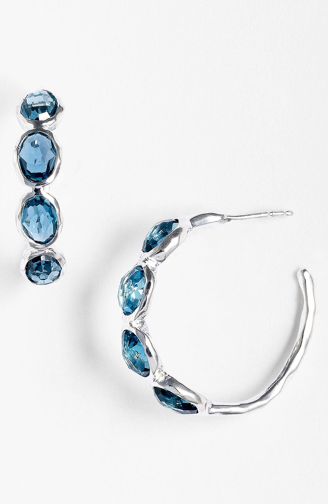 Alternate Image 1 Selected - Ippolita 'Rock Candy - Number 2' 4-Stone Hoop Earrings