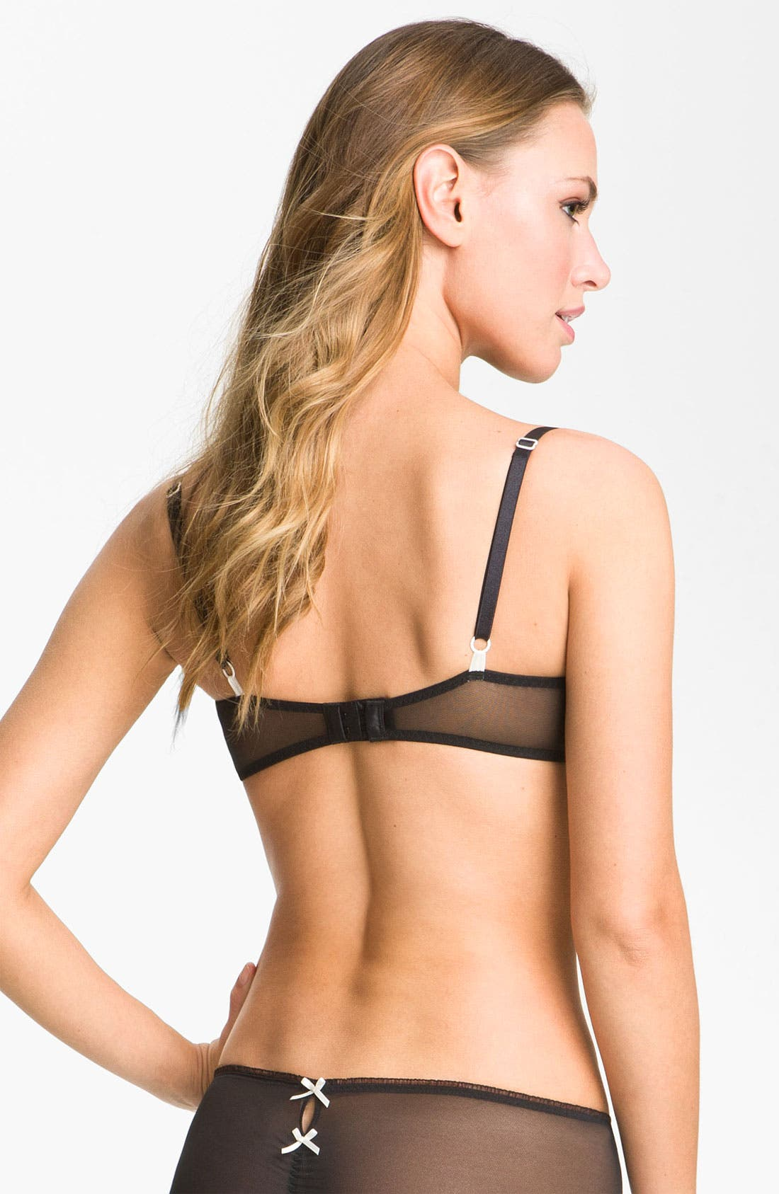 Alternate Image 2  - Betsey Johnson 'Peek-a-Bow' Underwire Balconette Bra