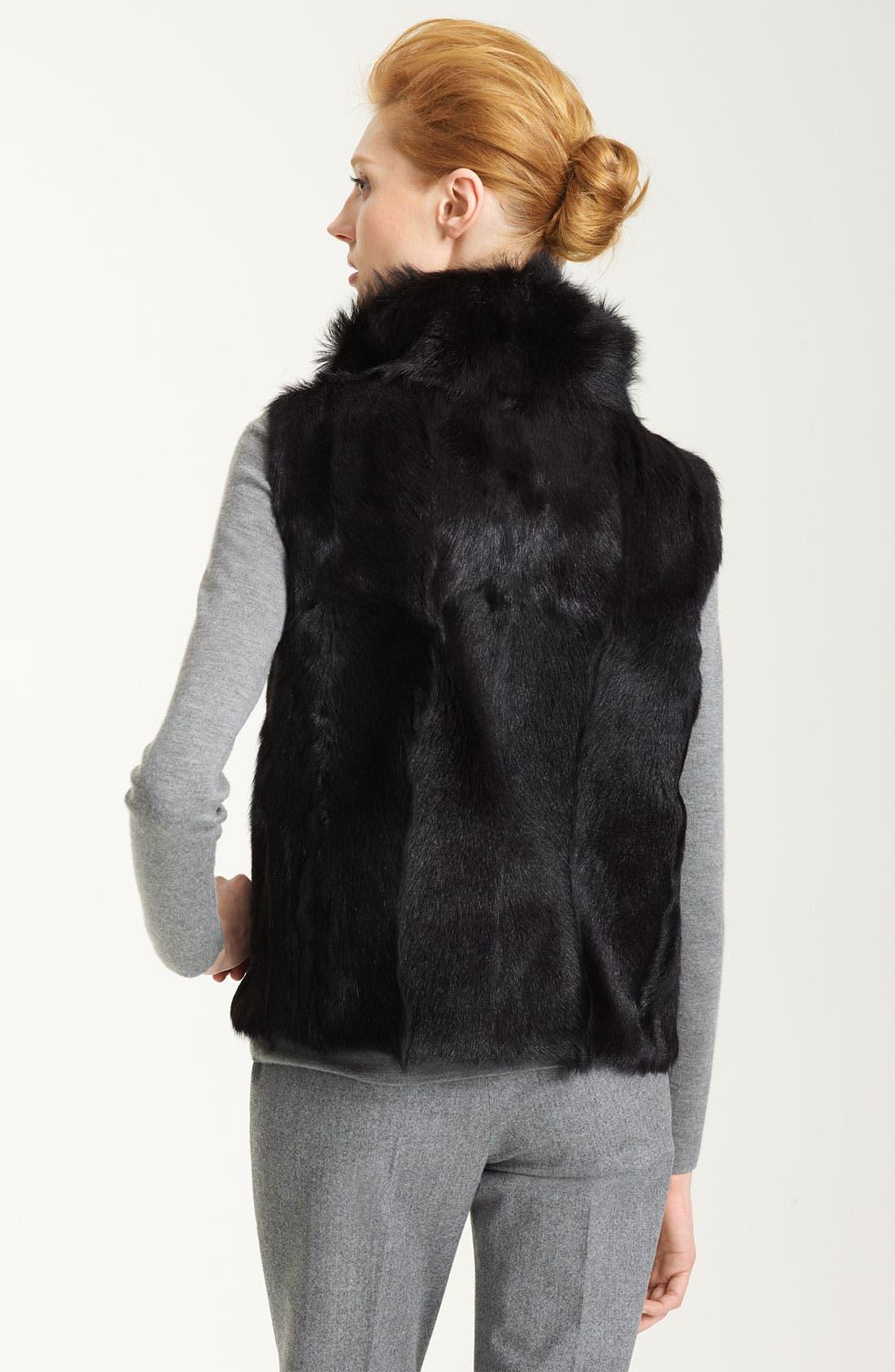 Alternate Image 2  - Pologeorgis Genuine Fur Vest