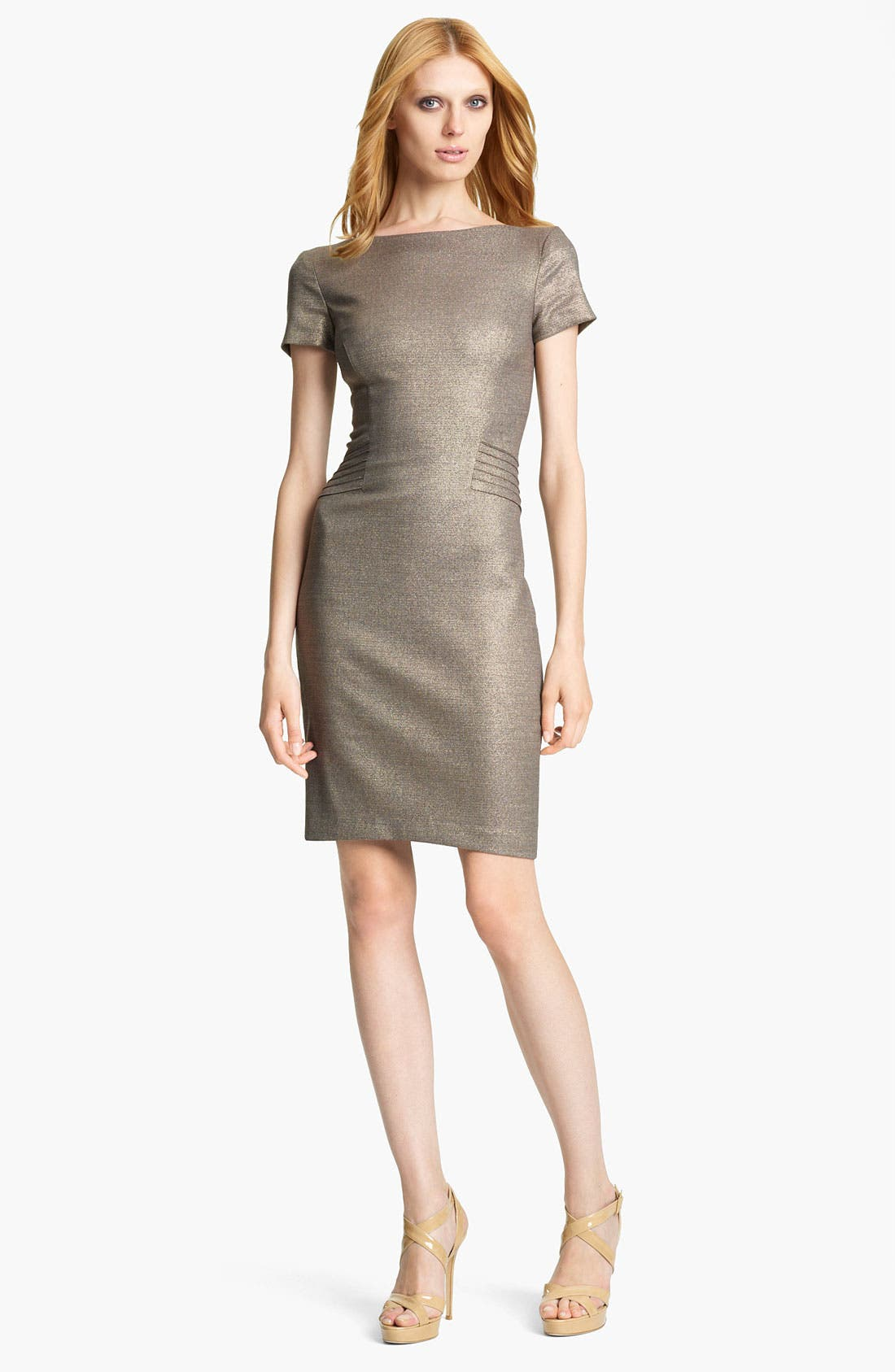 Alternate Image 1 Selected - Blumarine Metallic Pencil Dress