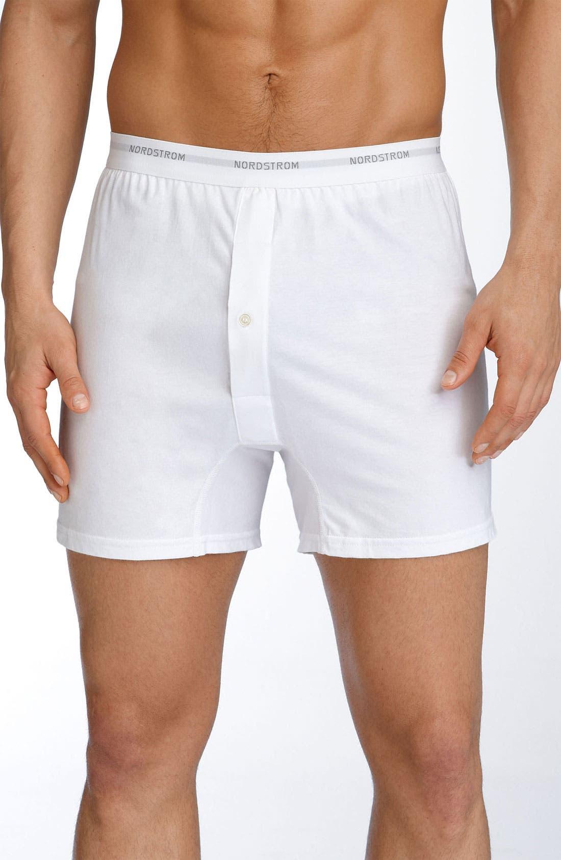 Nordstrom Men's Shop 3-Pack Supima® Cotton Boxers