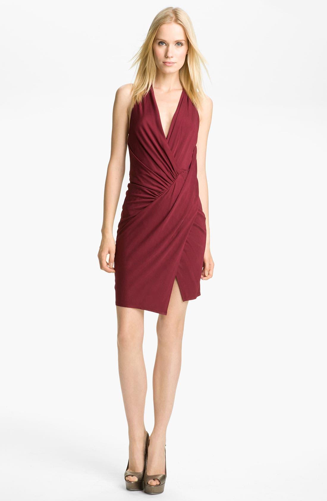 Alternate Image 1 Selected - Haute Hippie Draped Jersey Dress