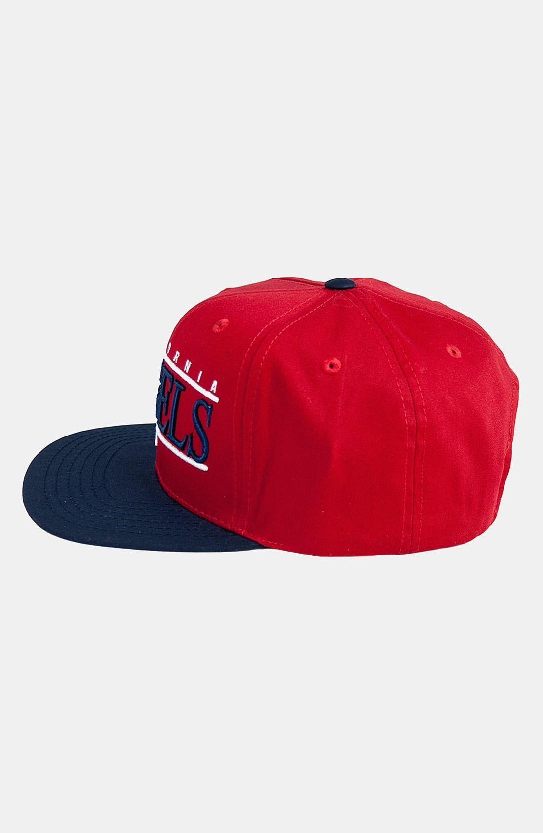 Alternate Image 3  - American Needle 'Los Angeles Angels of Anaheim - Nineties' Twill Snapback Baseball Cap
