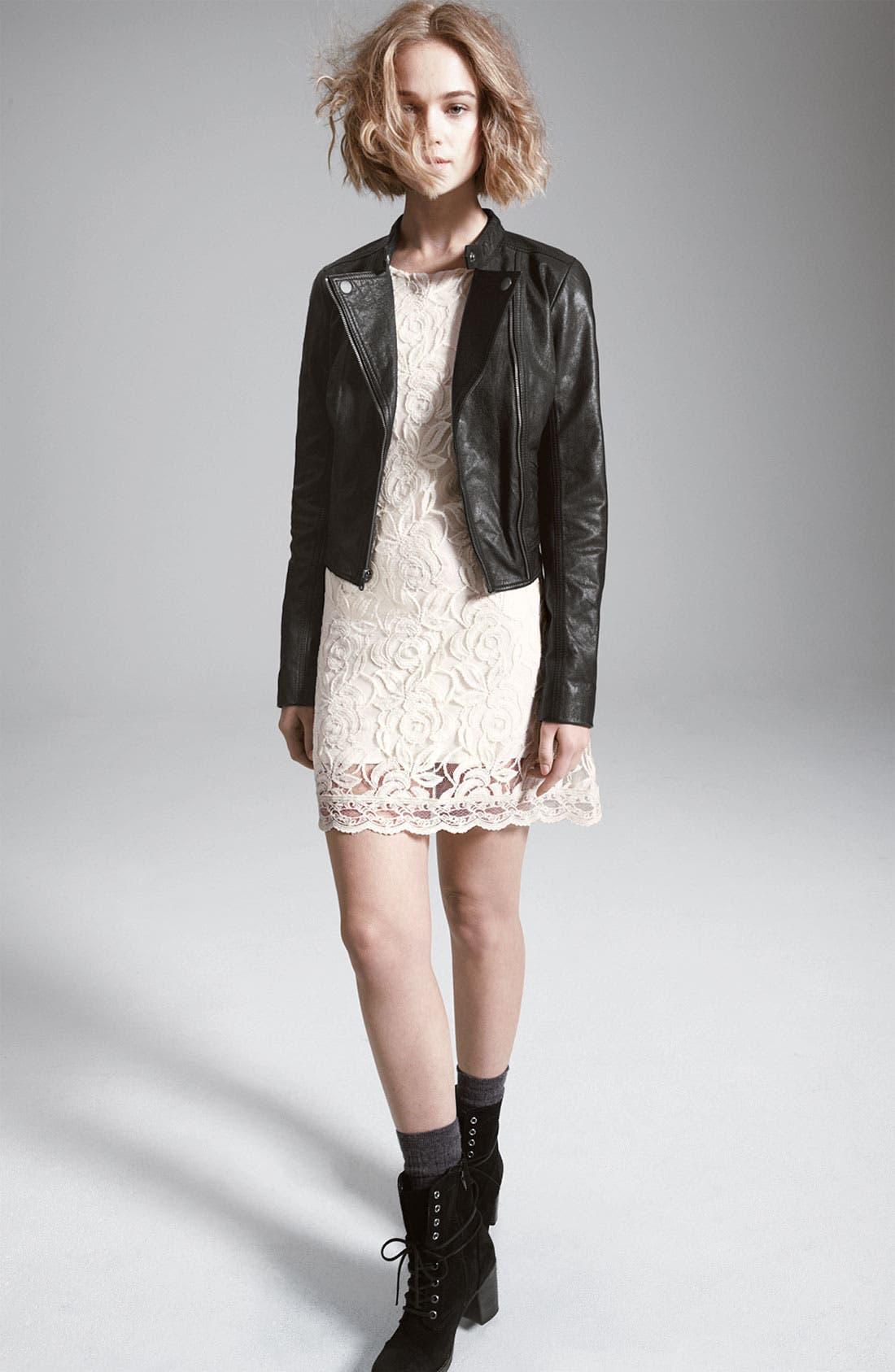 Main Image - Rubbish® Leather Jacket & Fire Dress