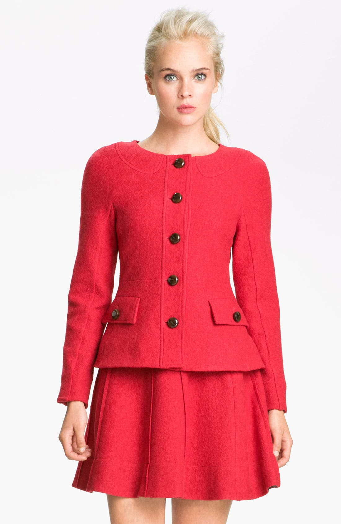 Alternate Image 1 Selected - MARC BY MARC JACOBS 'Blythe' Wool Jacket