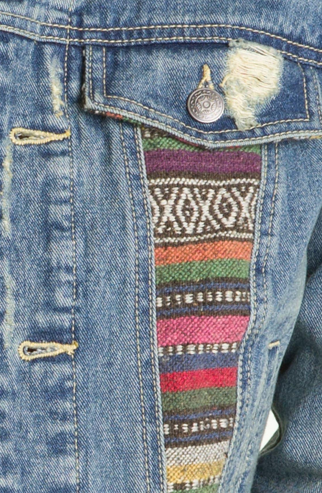 Alternate Image 3  - Free People 'Baja' Denim Jacket