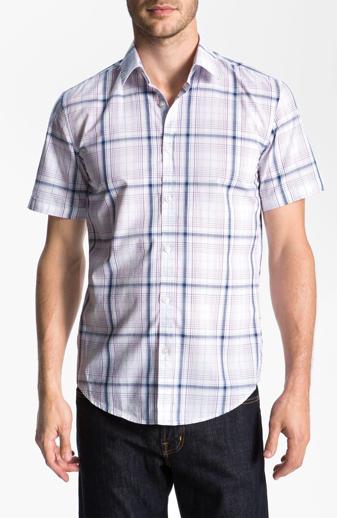 Alternate Image 1 Selected - BOSS Black 'Marc 2' Slim Fit Sport Shirt