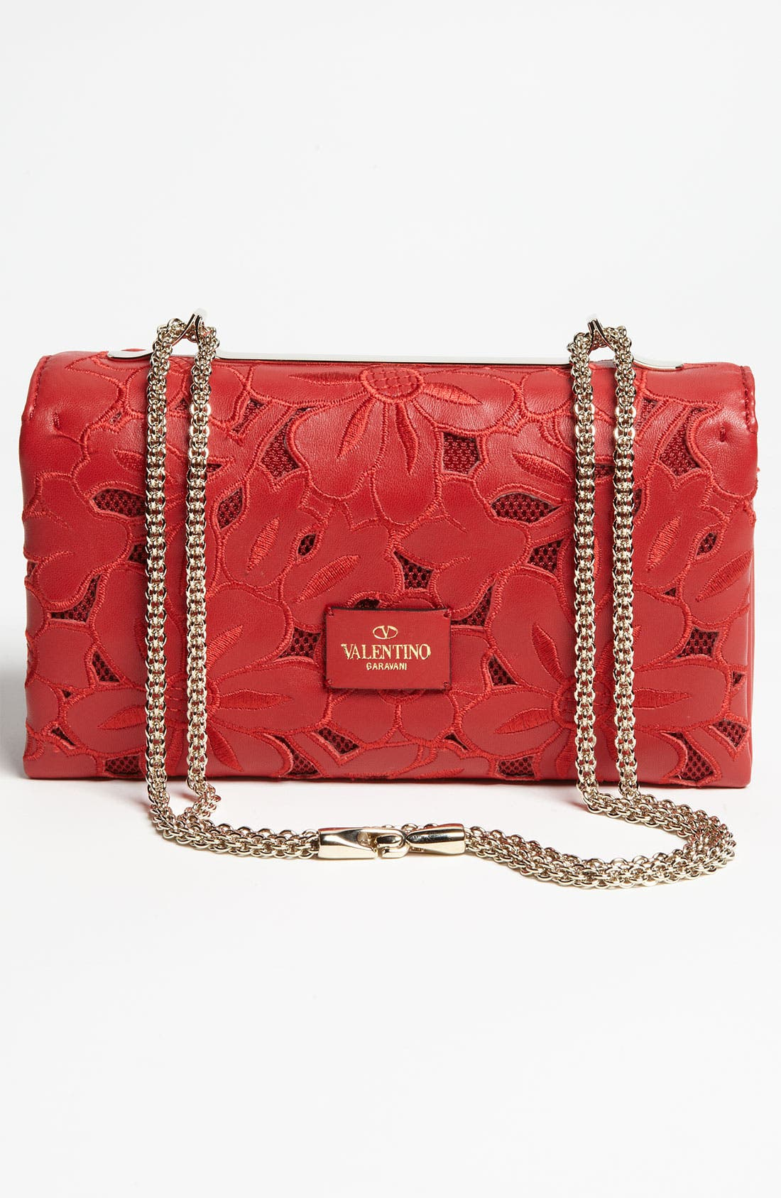 Alternate Image 4  - Valentino 'Girello Flap' Leather Shoulder Bag