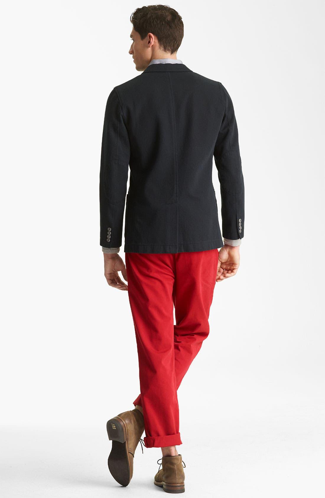 Alternate Image 5  - Jack Spade 'Mills' Stripe Sport Shirt