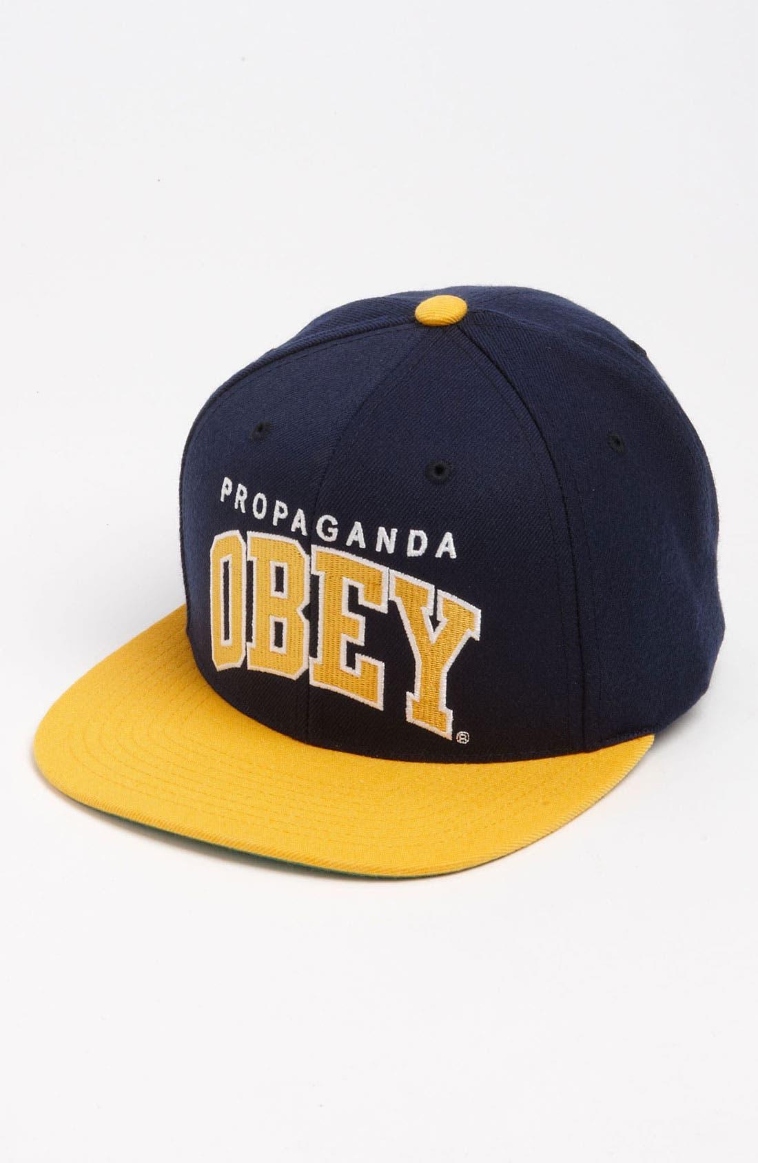 Main Image - Obey 'Throwback' Baseball Cap