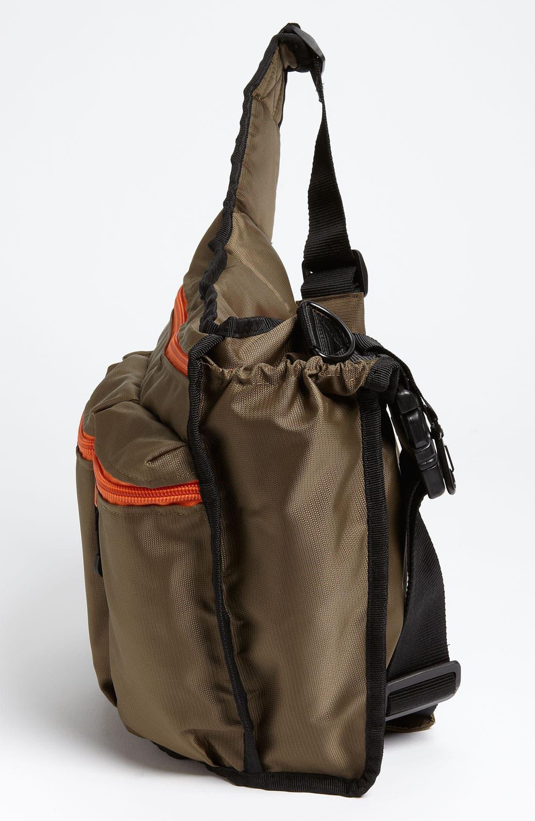 Alternate Image 4  - Diaper Dude Messenger Diaper Bag